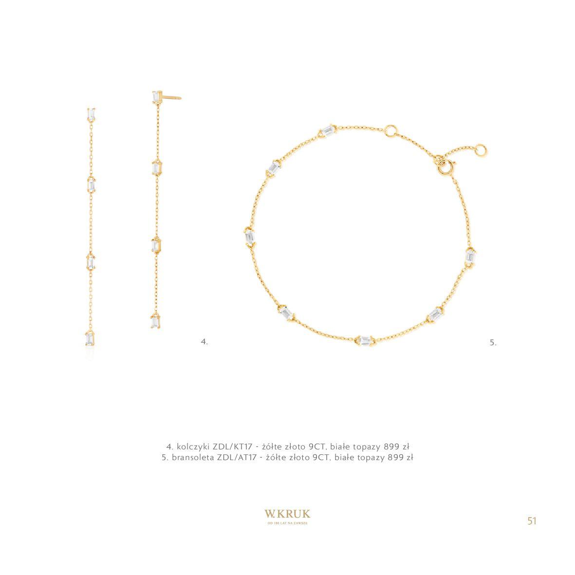 Gazetka W. KRUK: Katalog - Kolekcja Blask 2021-02-17 page-52