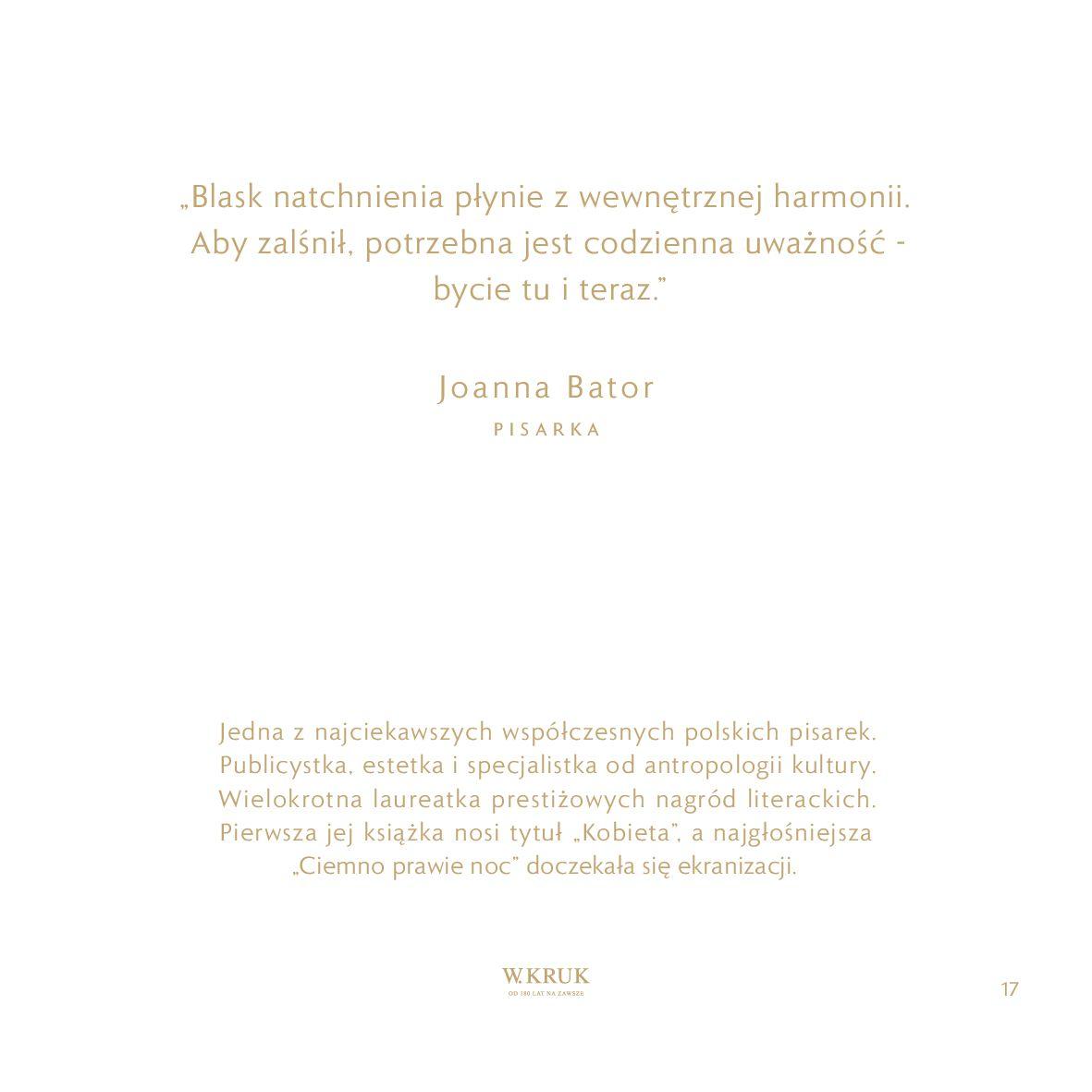 Gazetka W. KRUK: Katalog - Kolekcja Blask 2021-02-17 page-18