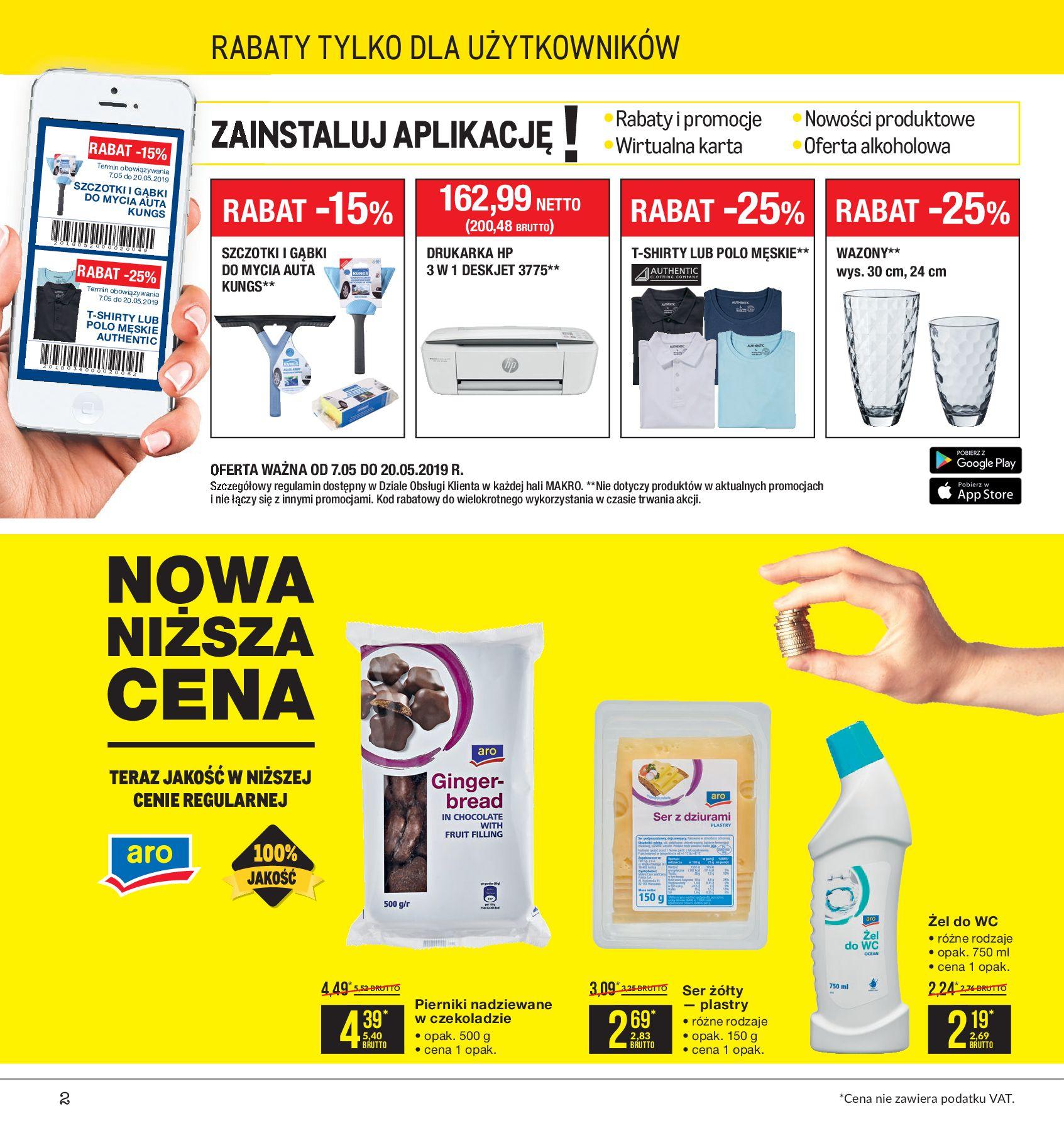 Gazetka Makro - Artykuły spożywcze-06.05.2019-20.05.2019-page-