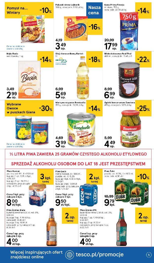 Gazetka Tesco Supermarket - Oferta na art. spożywcze i kosmetyki-13.08.2019-21.08.2019-page-5