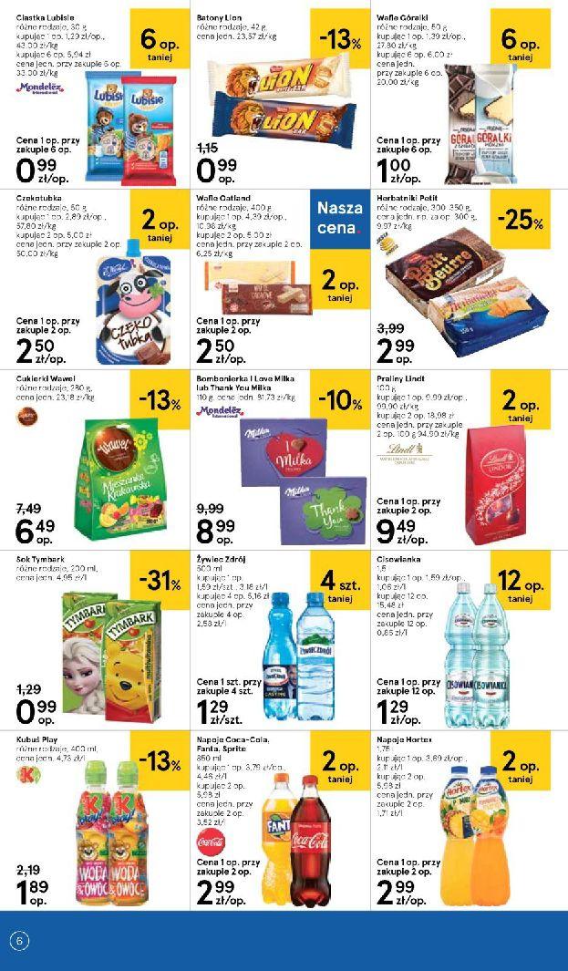 Gazetka Tesco Supermarket - Oferta na art. spożywcze i kosmetyki-13.08.2019-21.08.2019-page-6