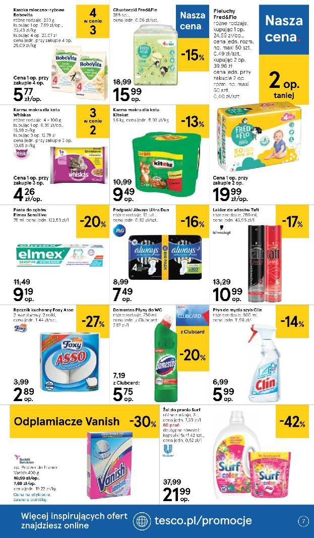 Gazetka Tesco Supermarket - Oferta na art. spożywcze i kosmetyki-13.08.2019-21.08.2019-page-7