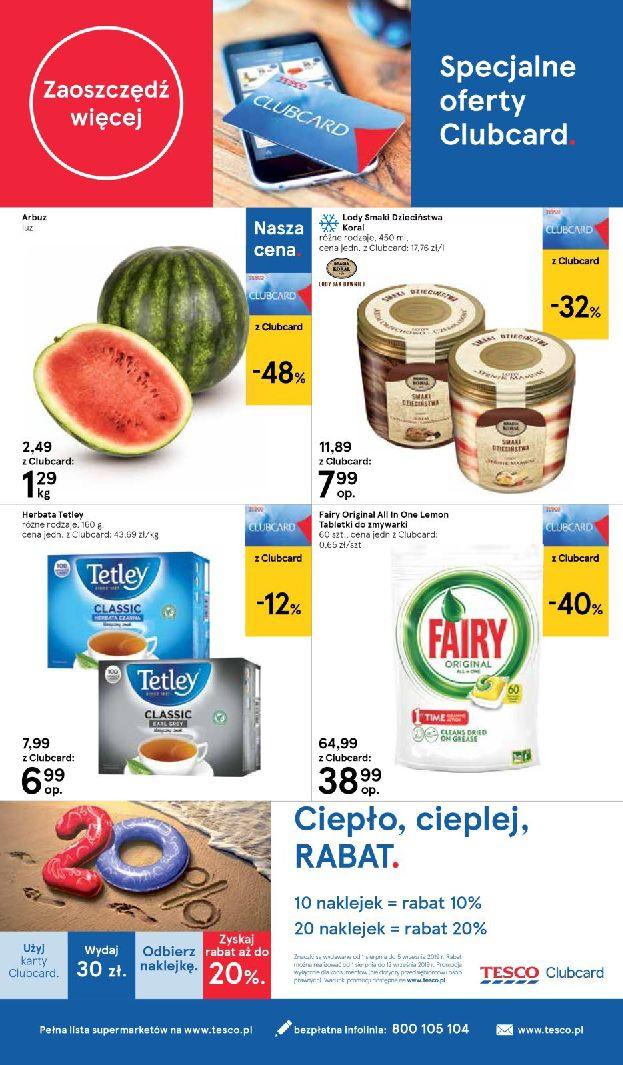 Gazetka Tesco Supermarket - Oferta na art. spożywcze i kosmetyki-13.08.2019-21.08.2019-page-8