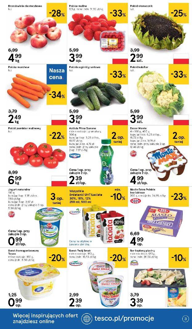 Gazetka Tesco Supermarket - Oferta na art. spożywcze i kosmetyki-13.08.2019-21.08.2019-page-3