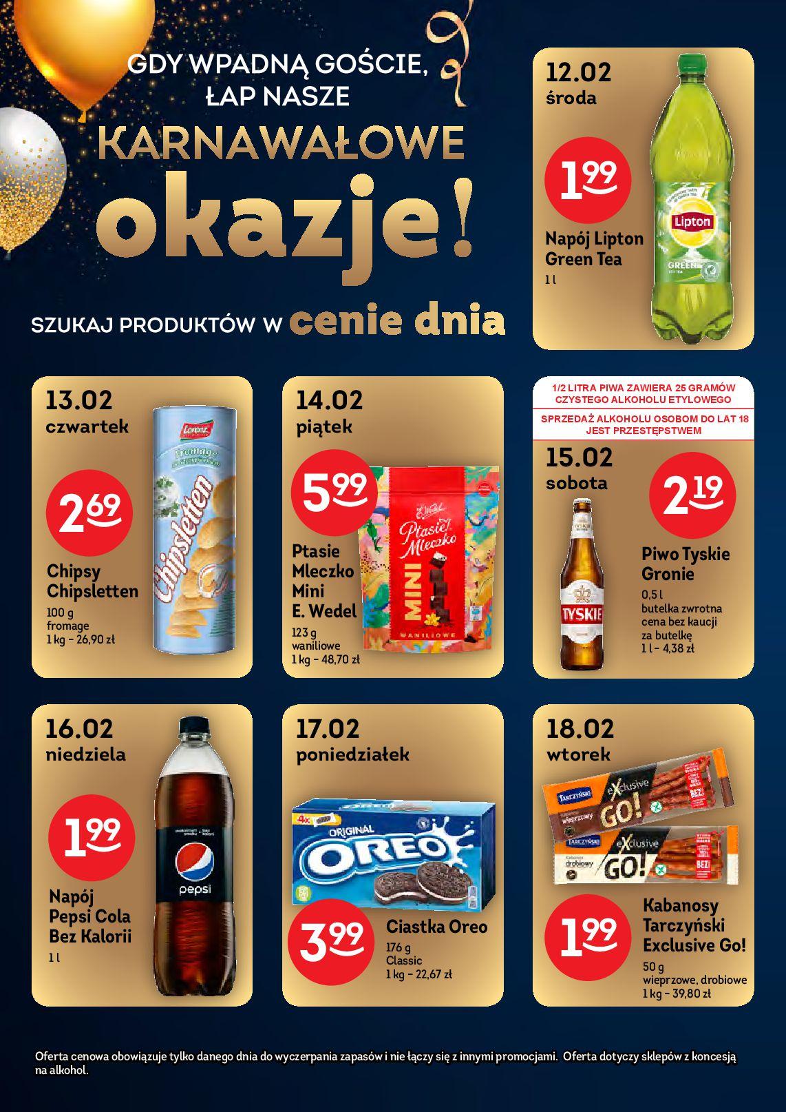 Gazetka Żabka - Gazetka promocyjna-04.02.2020-18.02.2020-page-7