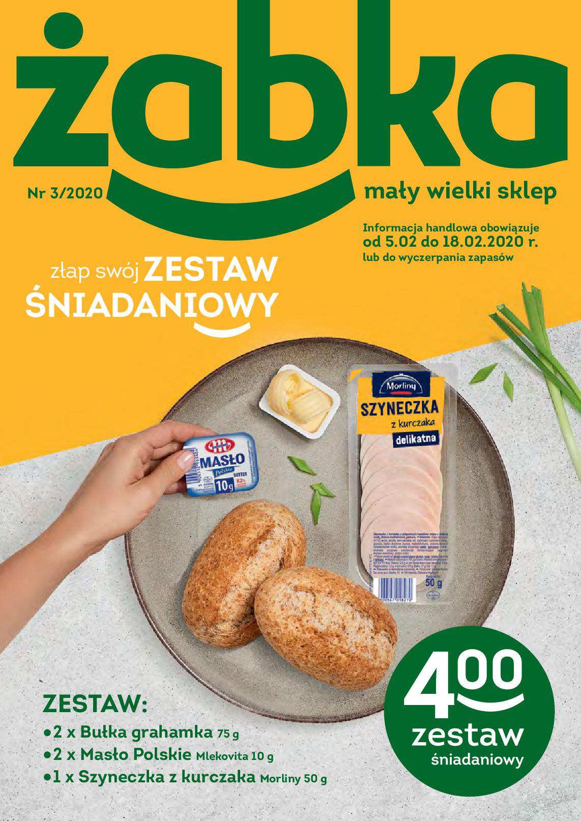 Gazetka Żabka - Gazetka promocyjna-04.02.2020-18.02.2020-page-1