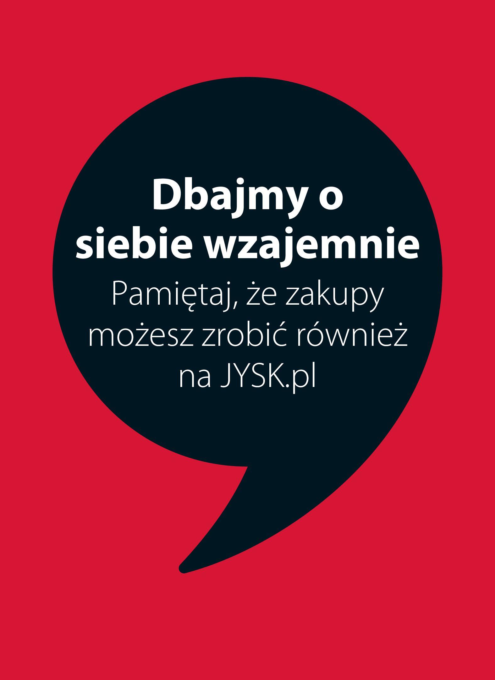 Jysk:  Gazetka Jysk - Oferta handlowa 03.08.2021