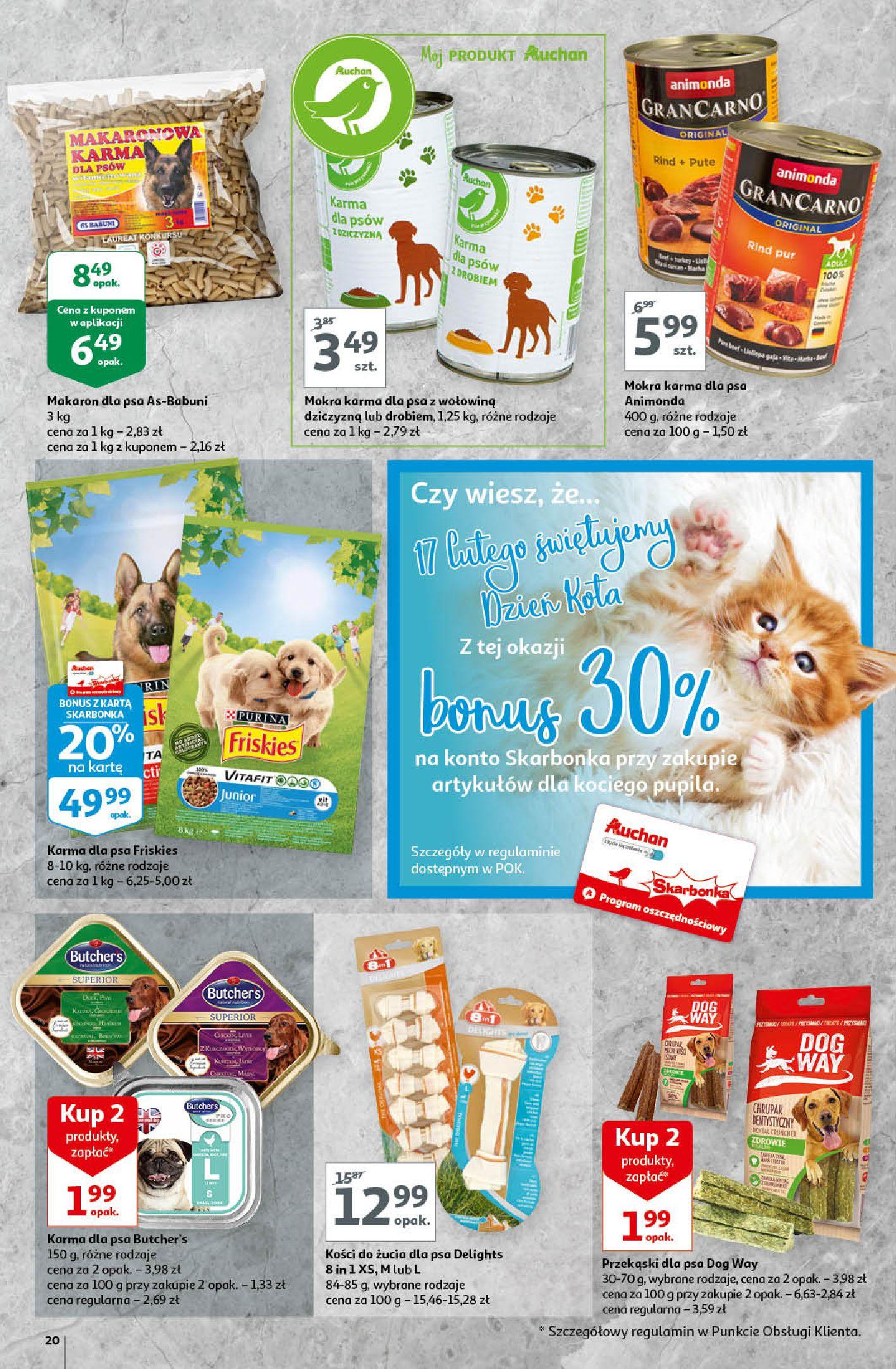Gazetka Auchan - A love You Hipermarkety-12.02.2020-19.02.2020-page-20