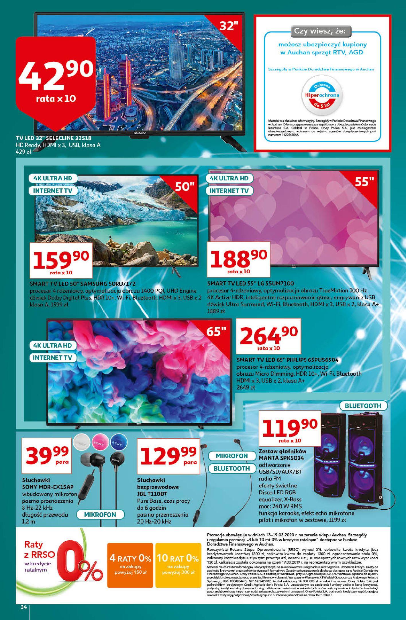 Gazetka Auchan - A love You Hipermarkety-12.02.2020-19.02.2020-page-34