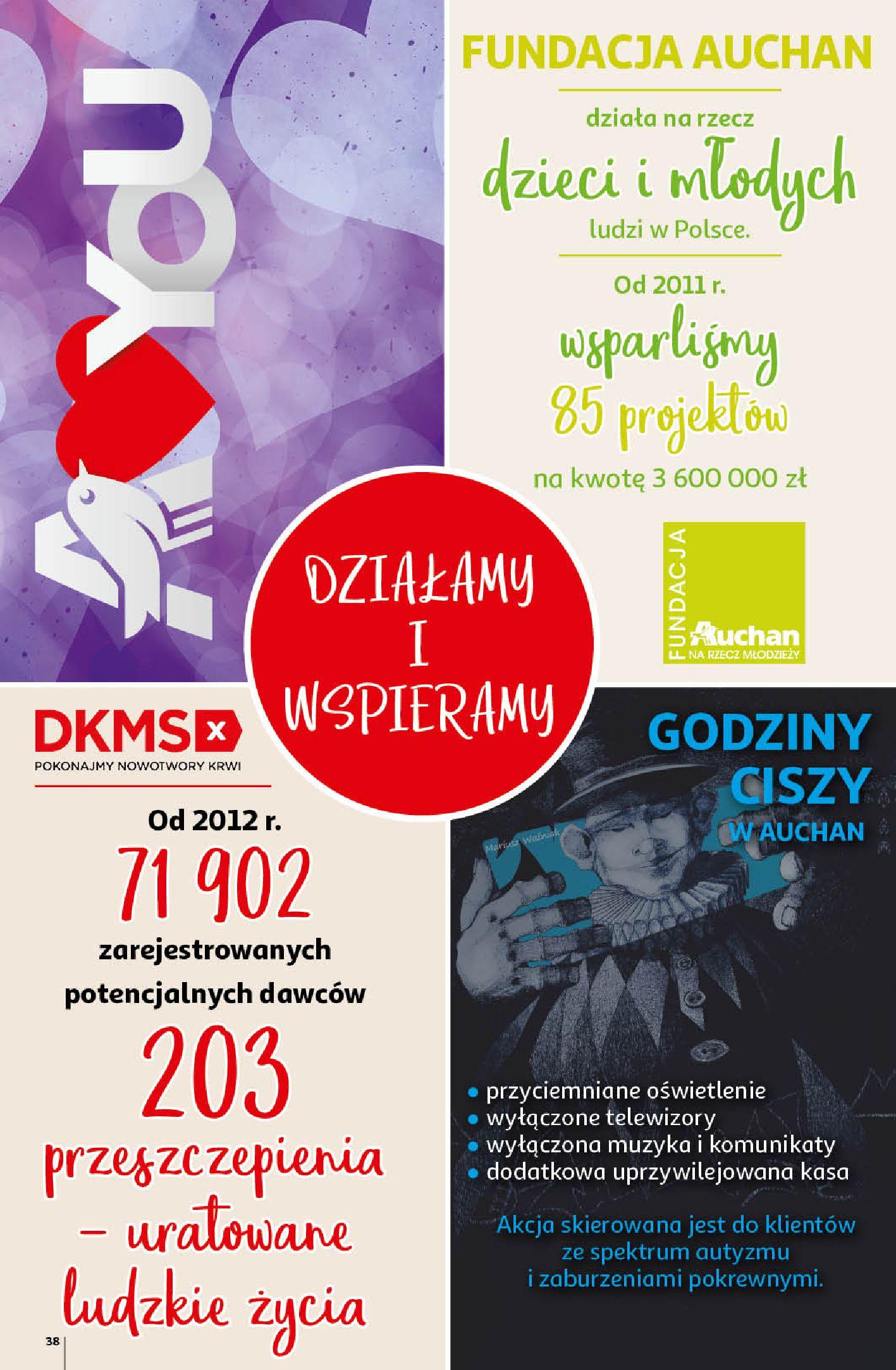 Gazetka Auchan - A love You Hipermarkety-12.02.2020-19.02.2020-page-38