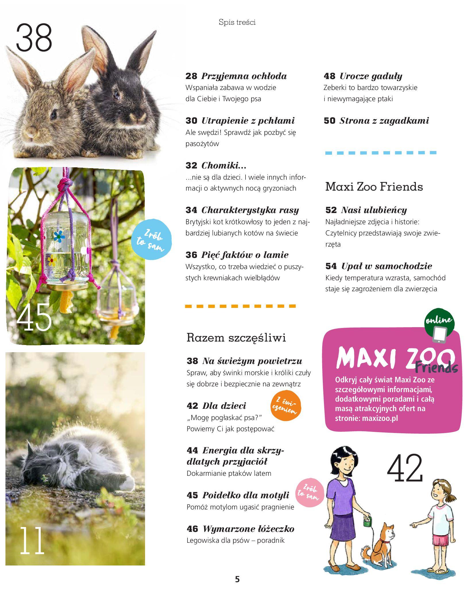 Gazetka Maxi Zoo: Gazetka Maxi Zoo 2021-08-09 page-5