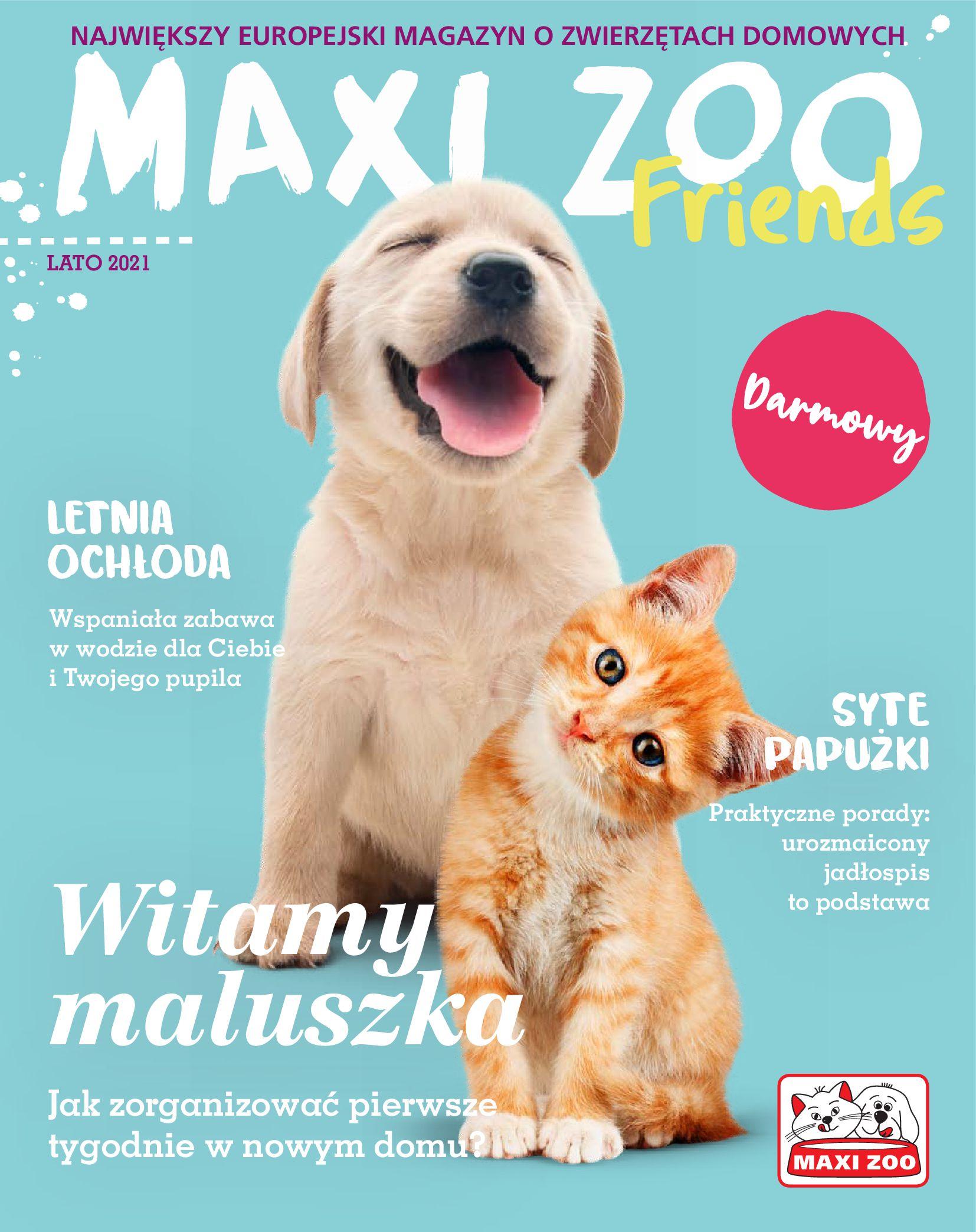 Maxi Zoo:  Gazetka Maxi Zoo 08.08.2021