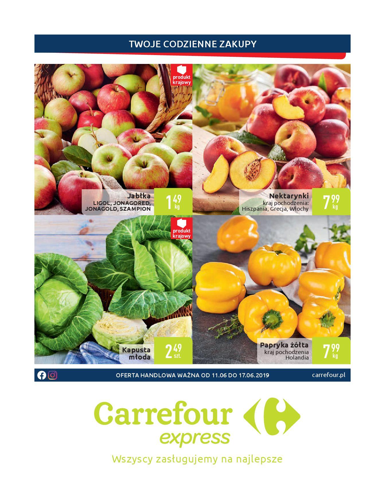 Gazetka Carrefour Express - Twoje codzienne zakupy-10.06.2019-17.06.2019-page-