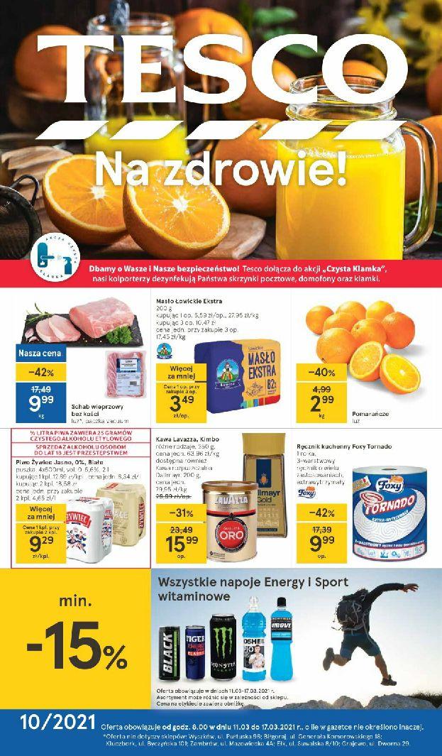 Gazetka Tesco -gazetka-promocyjna-2021-03-11-2021-03-17 11.03-17.03