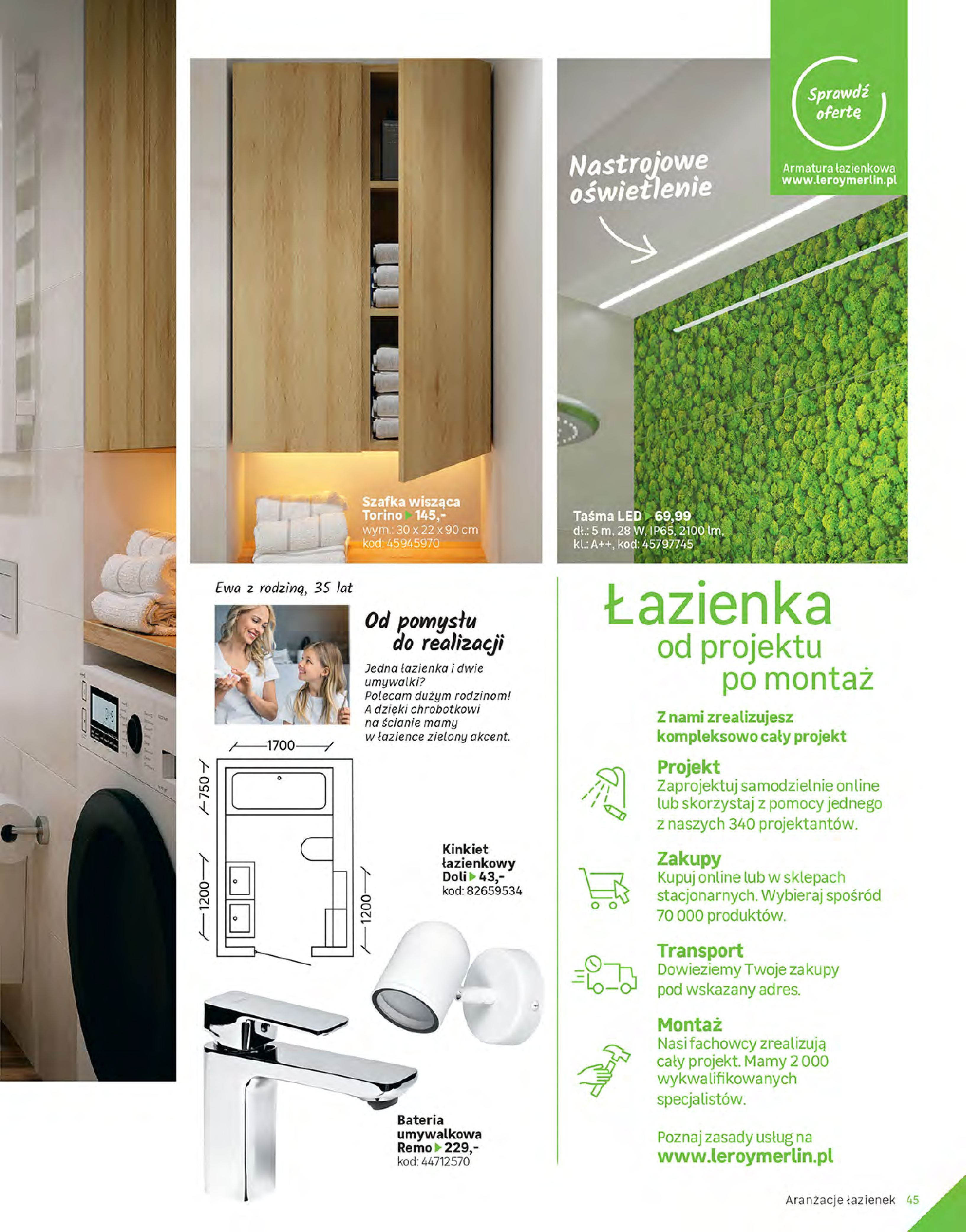 Gazetka Leroy Merlin: Gazetka Leroy Merlin - Katalog Projekty 2021-06-01 page-45