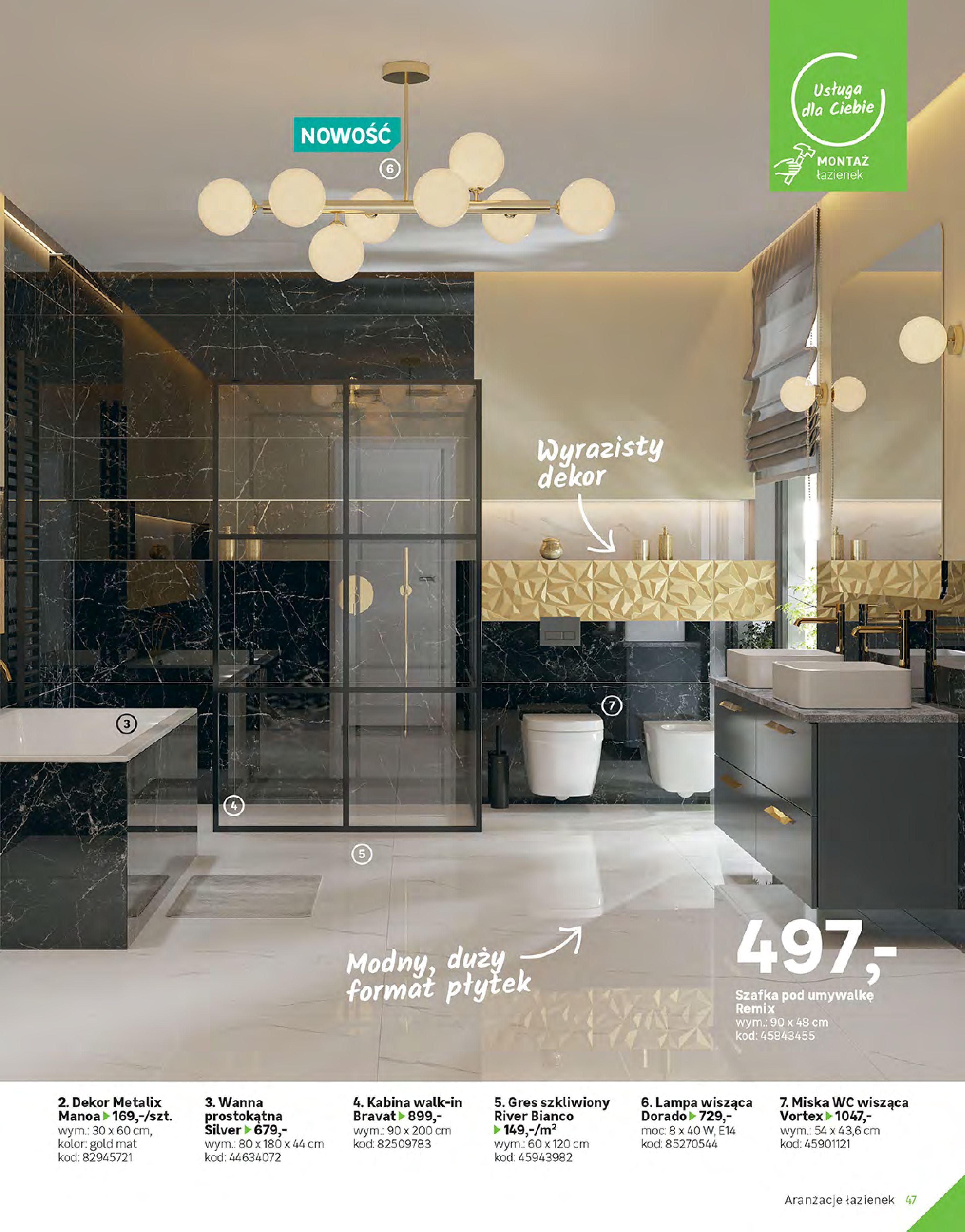 Gazetka Leroy Merlin: Gazetka Leroy Merlin - Katalog Projekty 2021-06-01 page-47