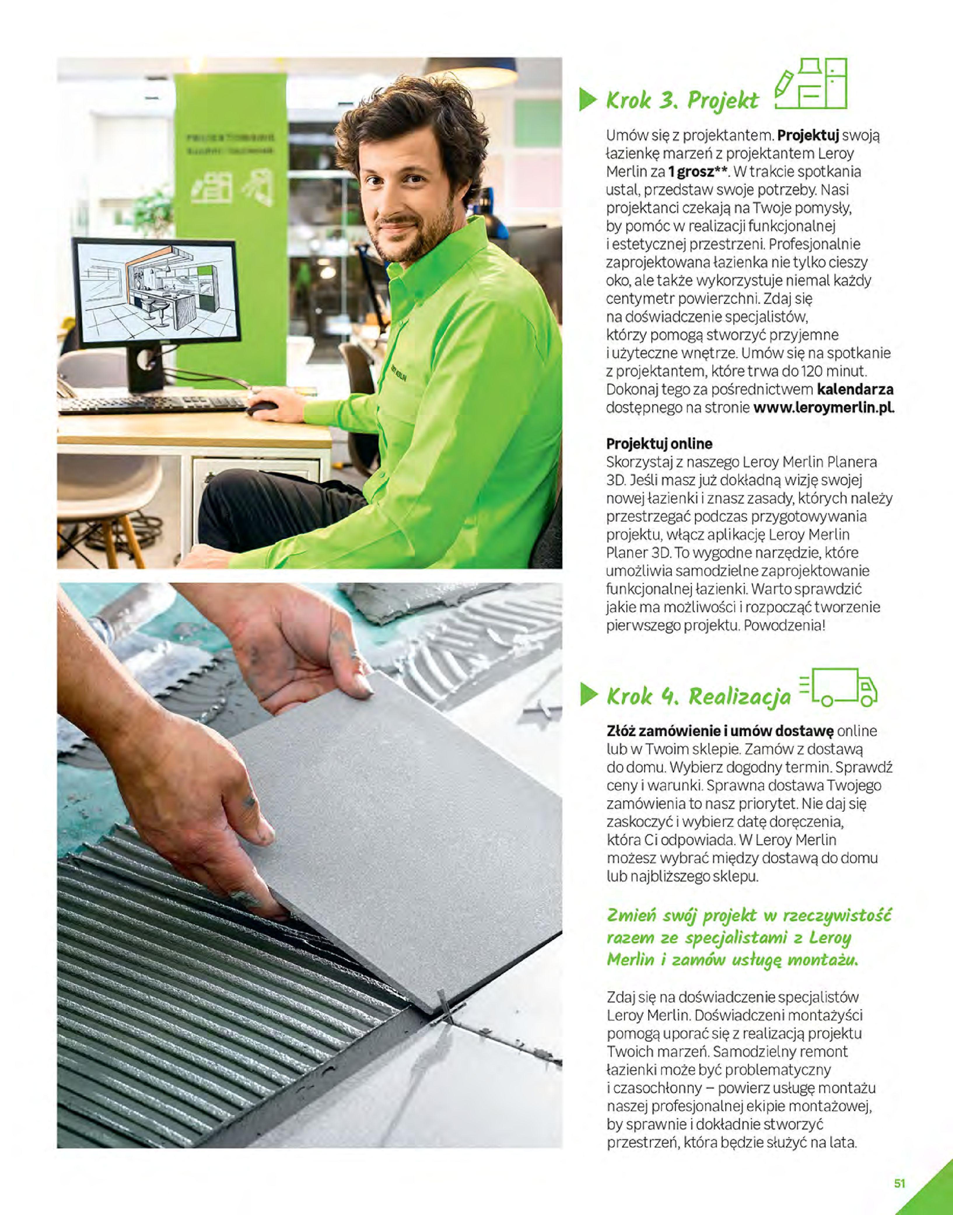 Gazetka Leroy Merlin: Gazetka Leroy Merlin - Katalog Projekty 2021-06-01 page-51
