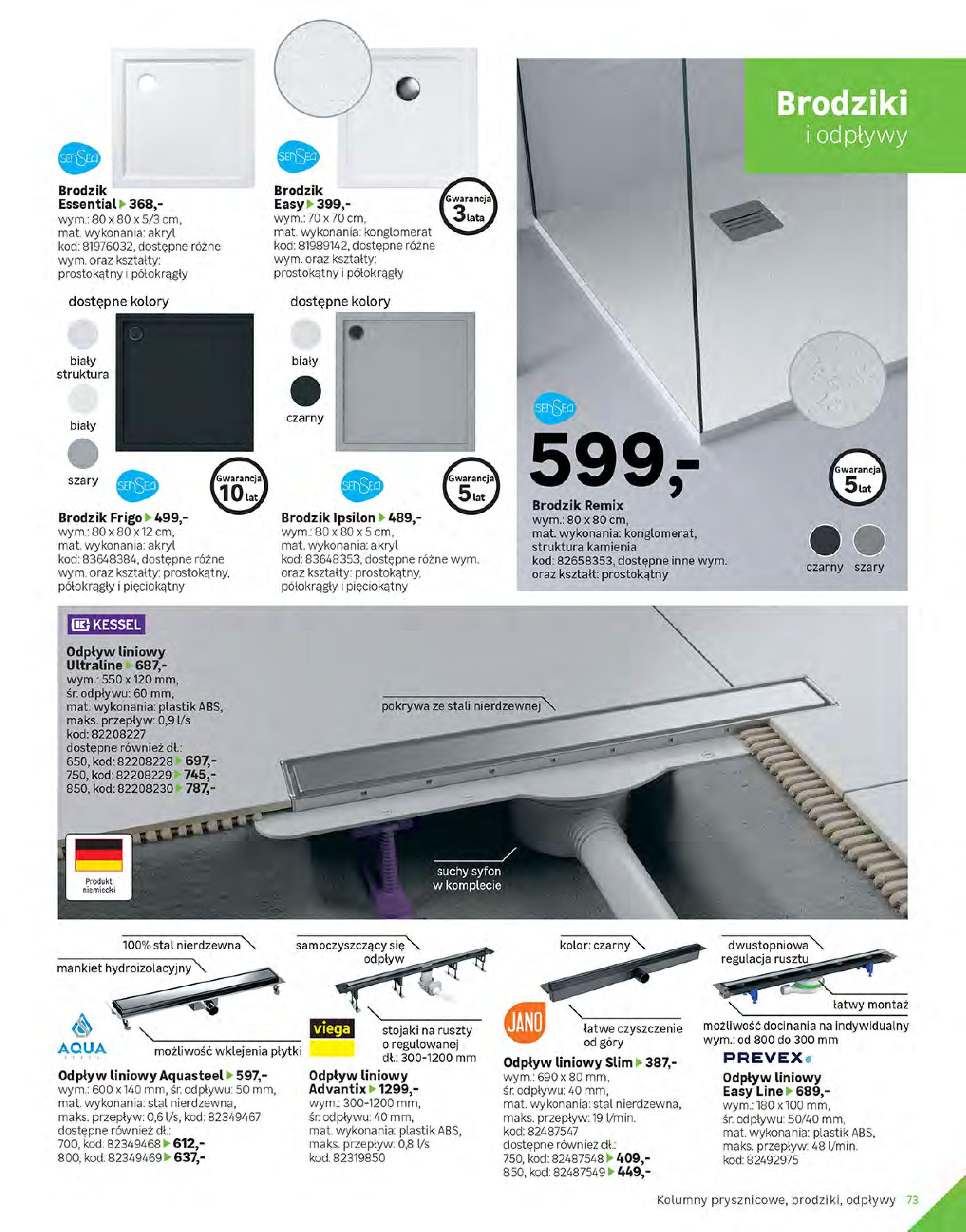 Gazetka Leroy Merlin: Gazetka Leroy Merlin - Katalog Projekty 2021-06-01 page-73