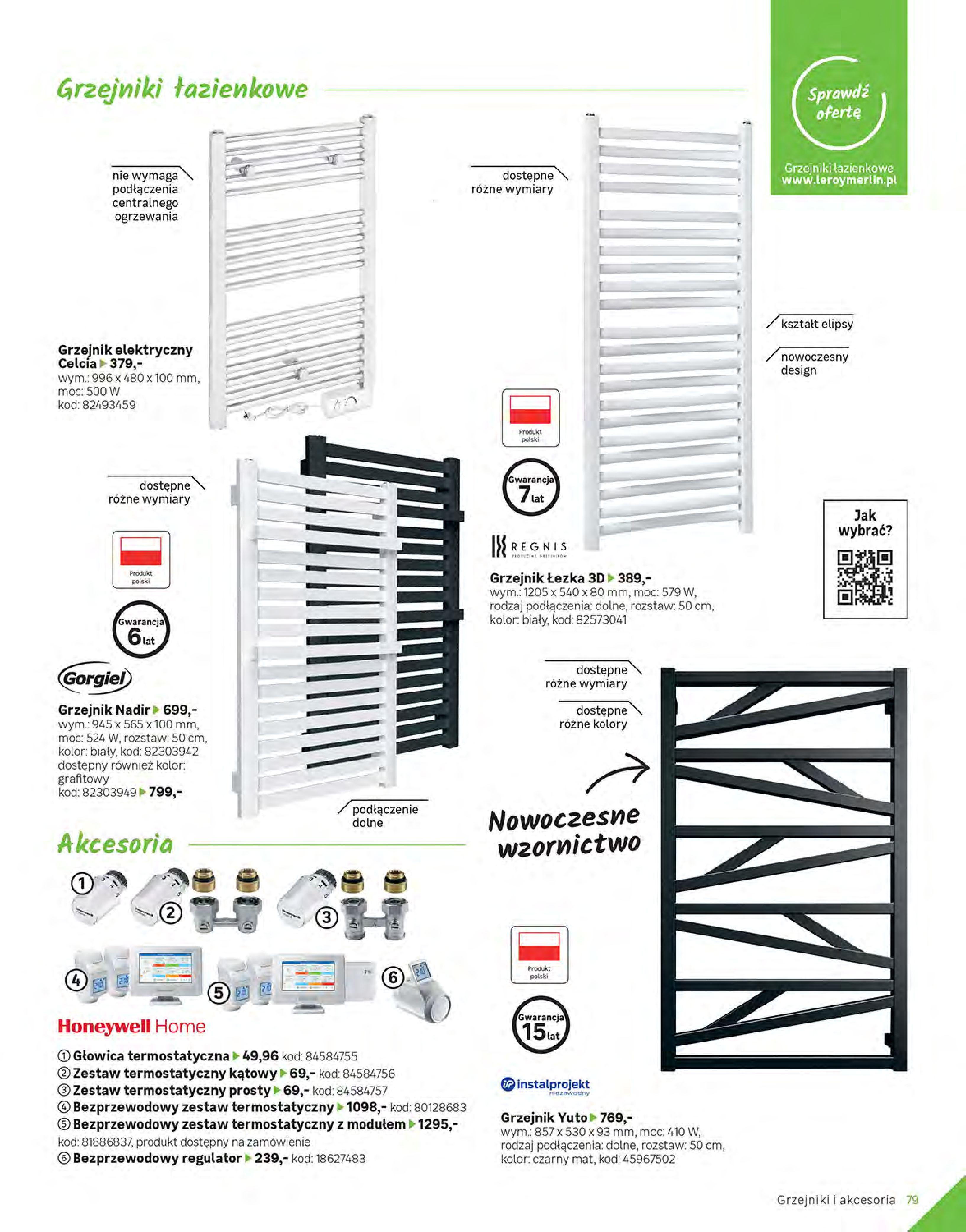 Gazetka Leroy Merlin: Gazetka Leroy Merlin - Katalog Projekty 2021-06-01 page-79