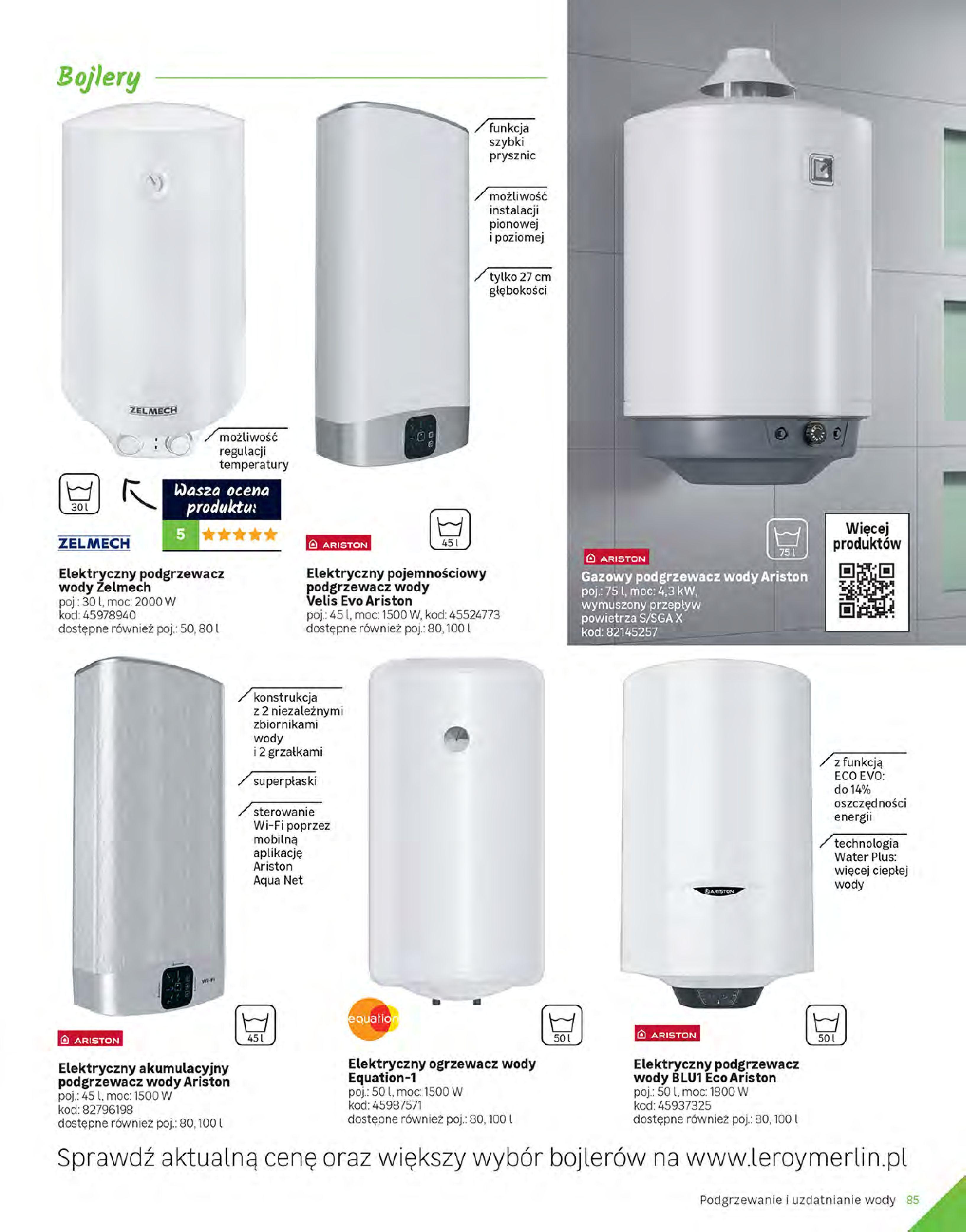 Gazetka Leroy Merlin: Gazetka Leroy Merlin - Katalog Projekty 2021-06-01 page-85