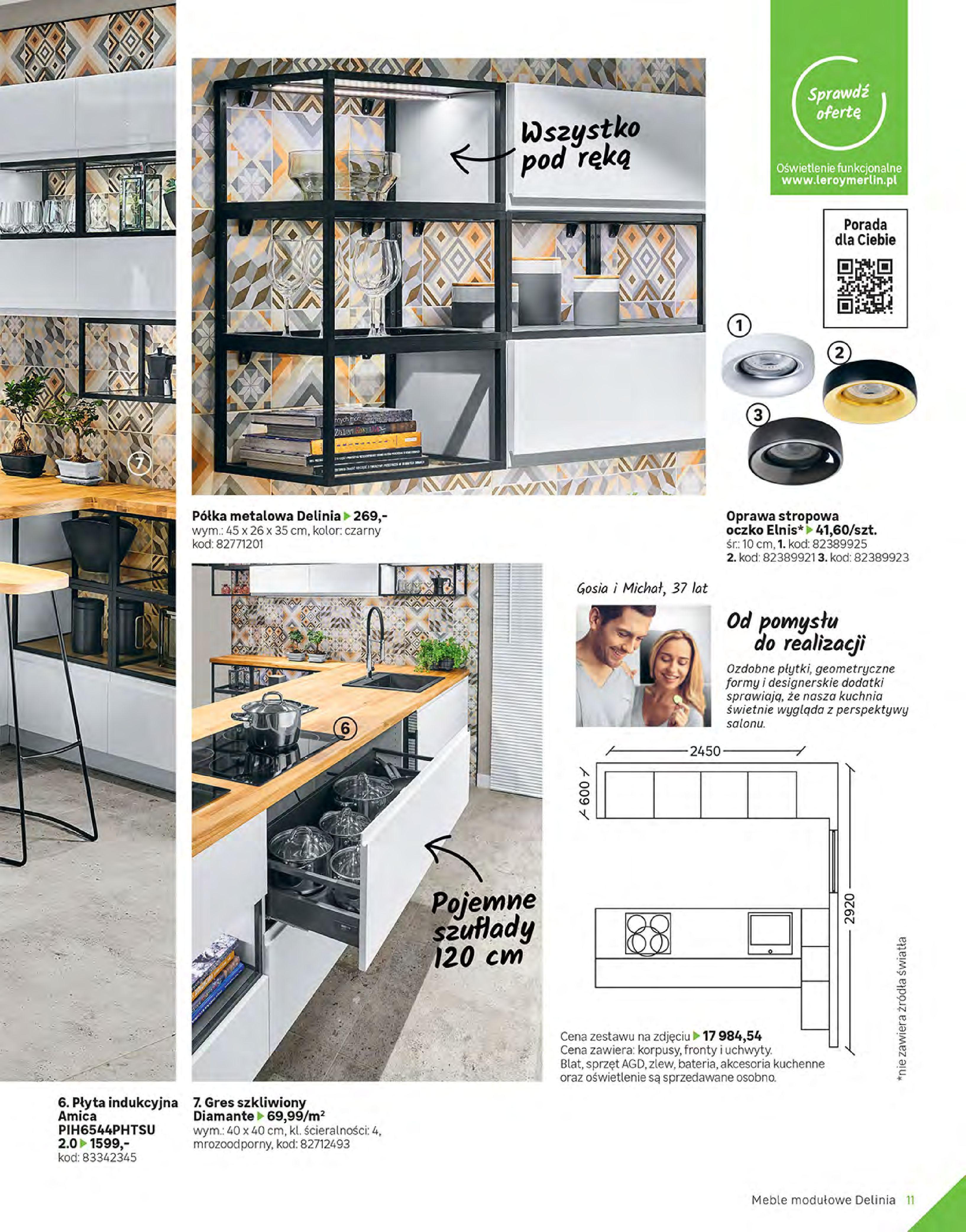 Gazetka Leroy Merlin: Gazetka Leroy Merlin - Katalog Projekty 2021-06-01 page-11