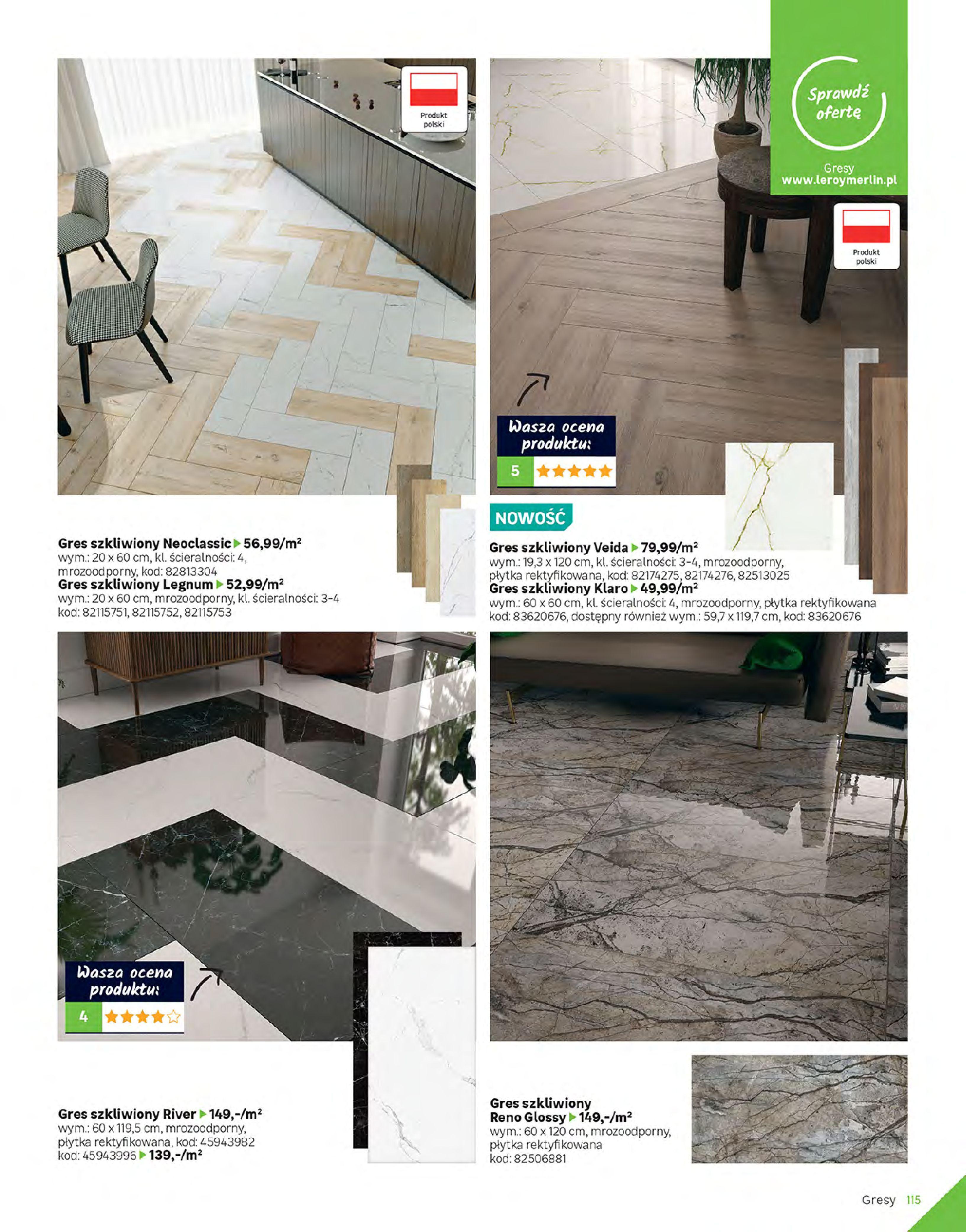 Gazetka Leroy Merlin: Gazetka Leroy Merlin - Katalog Projekty 2021-06-01 page-115
