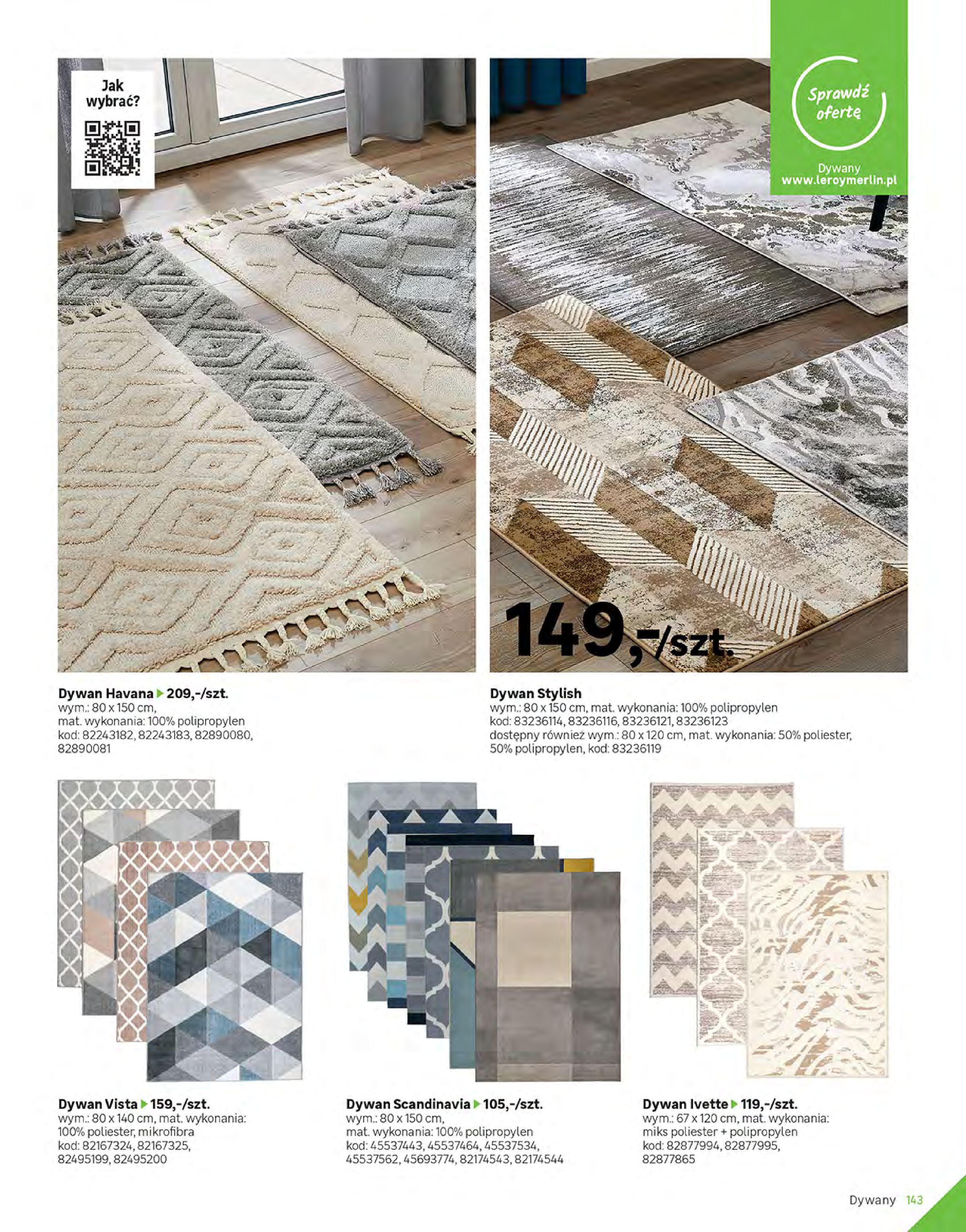 Gazetka Leroy Merlin: Gazetka Leroy Merlin - Katalog Projekty 2021-06-01 page-143