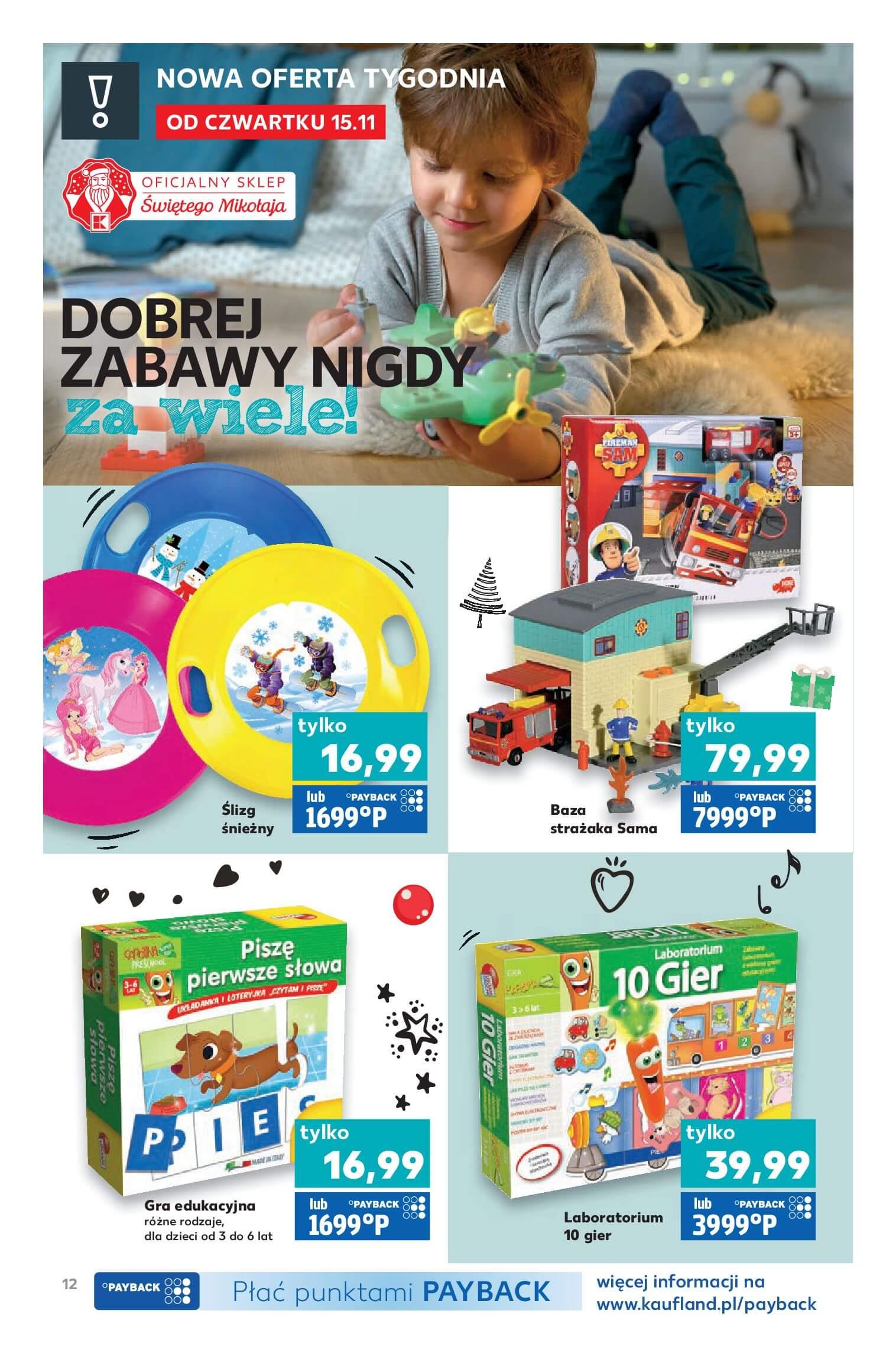 Gazetka Kaufland - Mikołaj jest NAJ!-13.11.2018-24.12.2018-page-