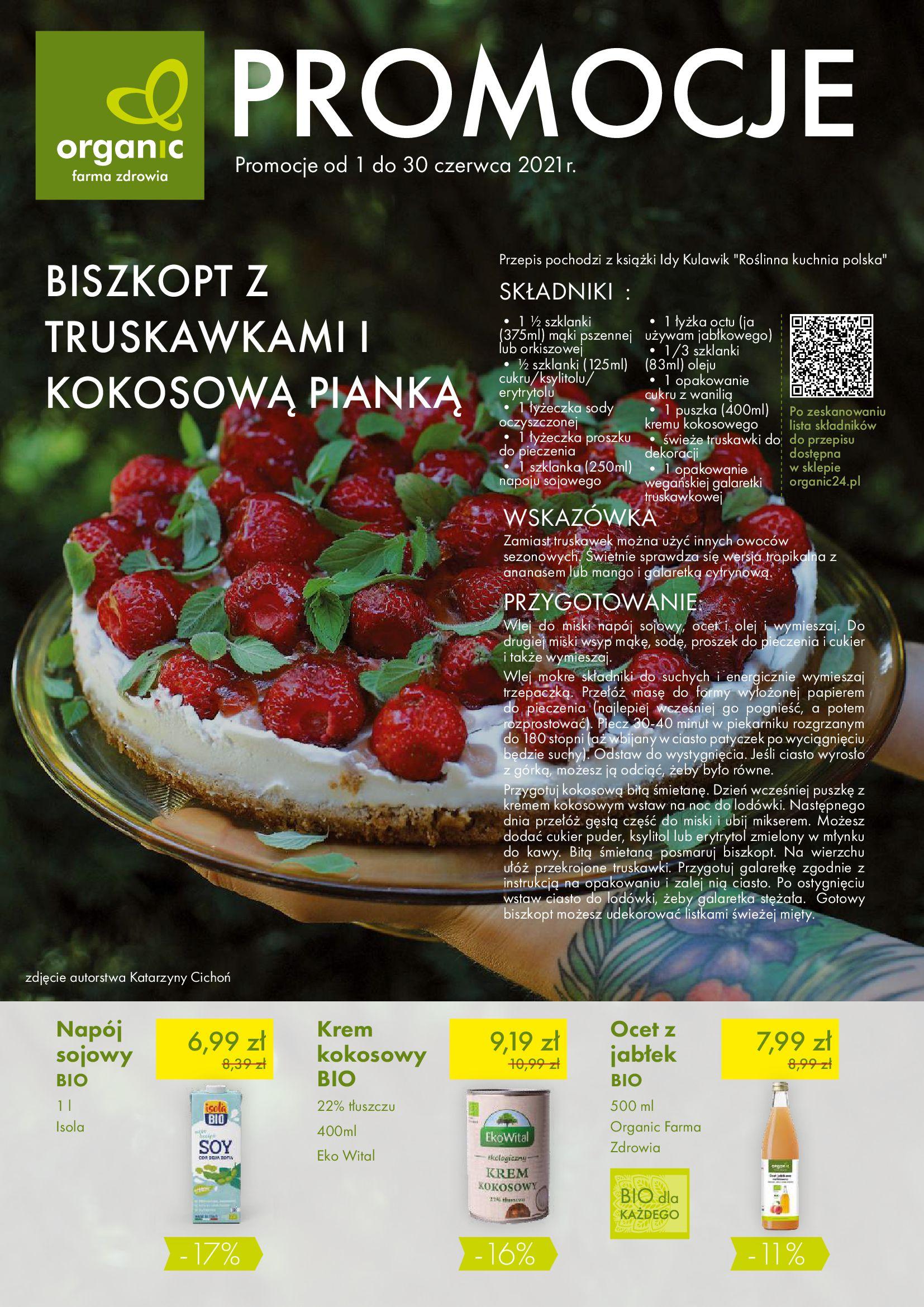 Organic Farma Zdrowia:  Gazetka Organic Farma Zdrowia 31.05.2021