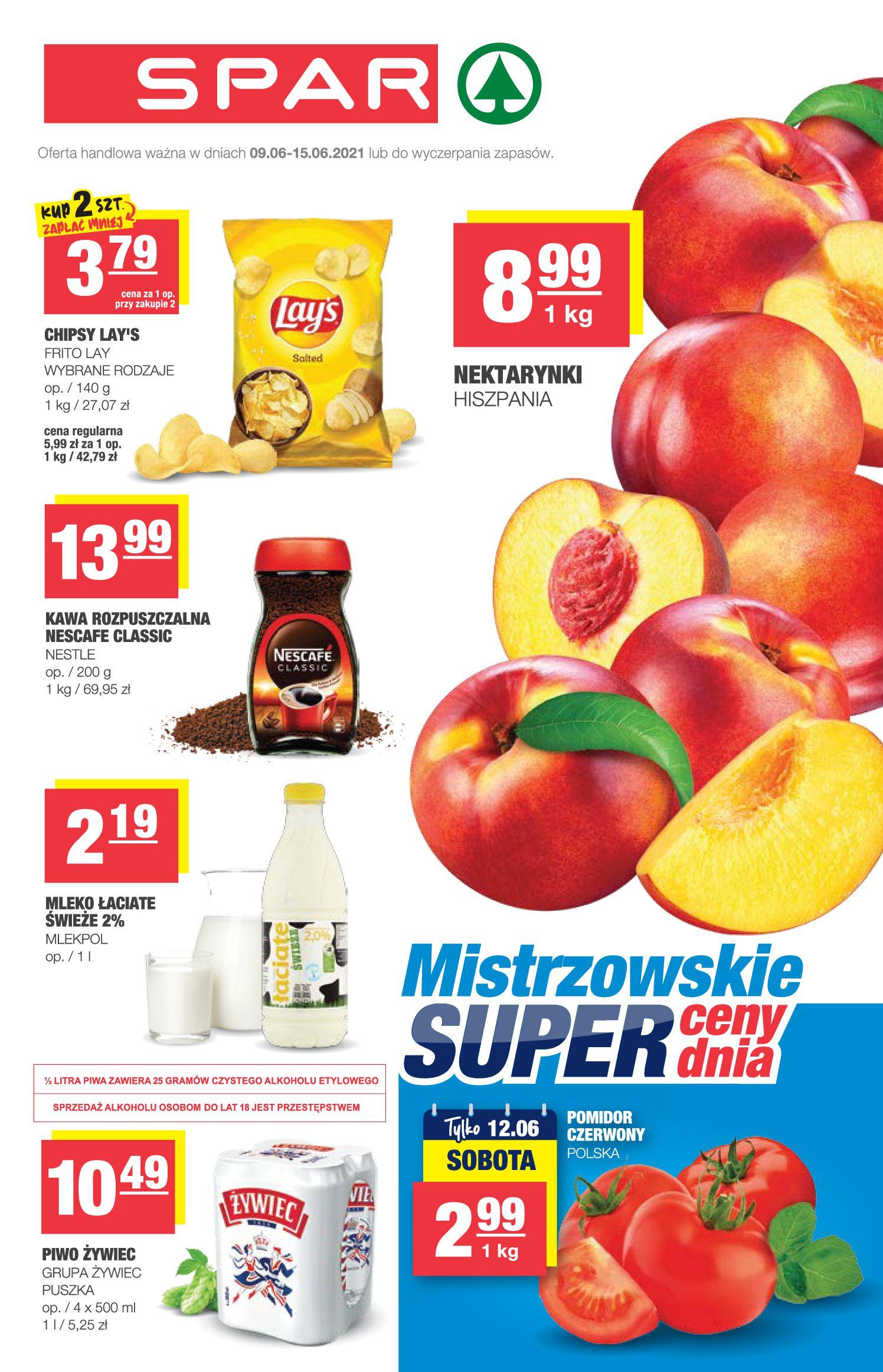 Gazetka Spar: Gazetka SPAR Express 2021-06-09 page-1