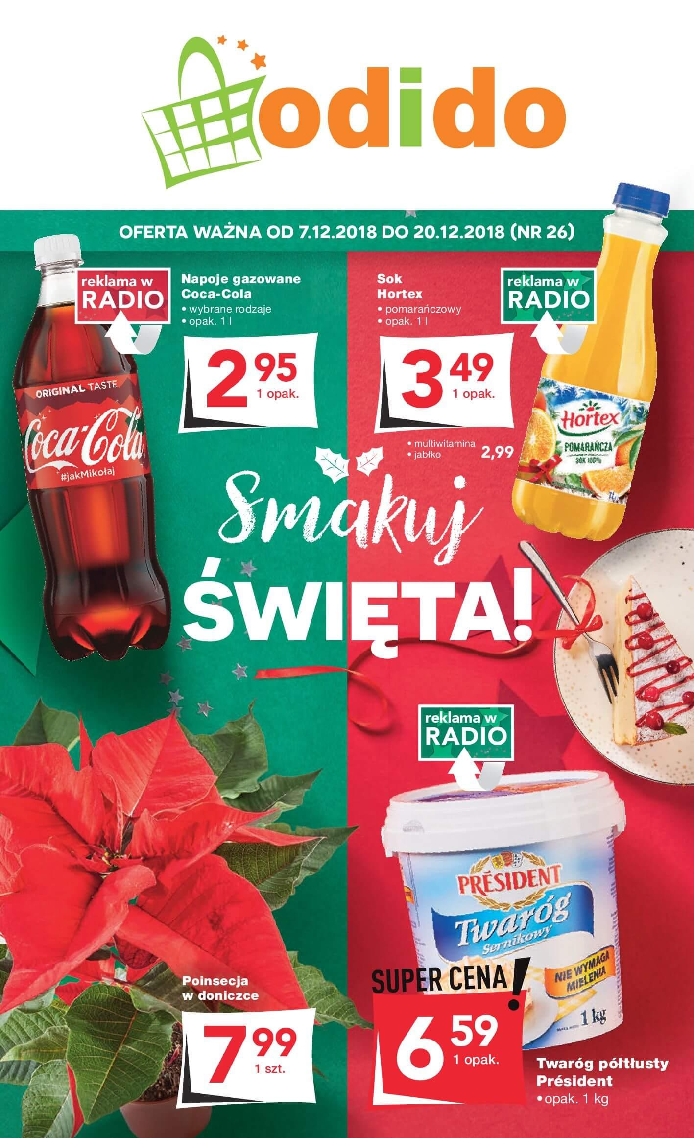 Gazetka Odido - Smakuj ŚWIĘTA!-05.12.2018-20.12.2018-page-