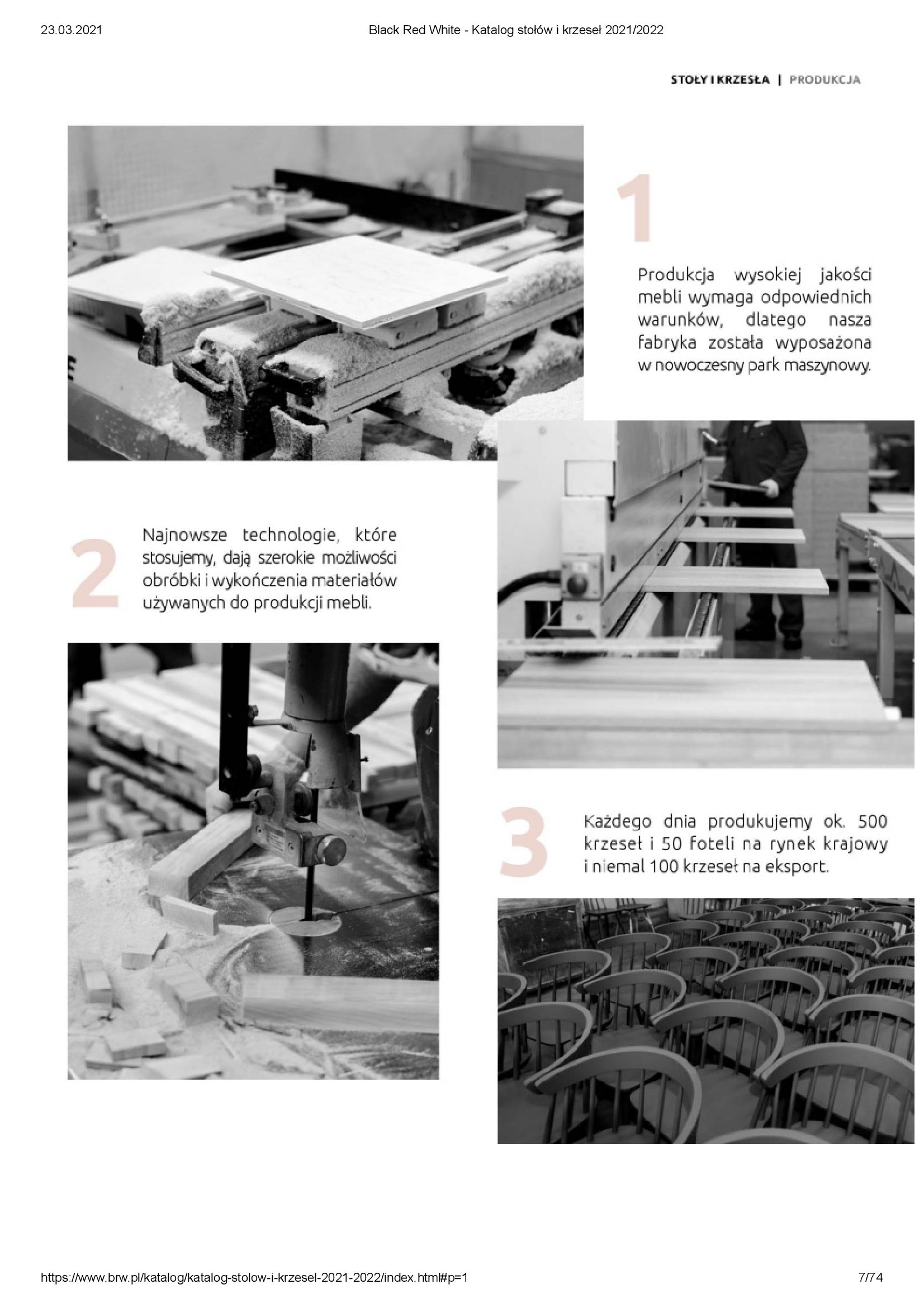 Gazetka Black Red White: Katalog stołów i krzeseł 2021-03-23 page-7