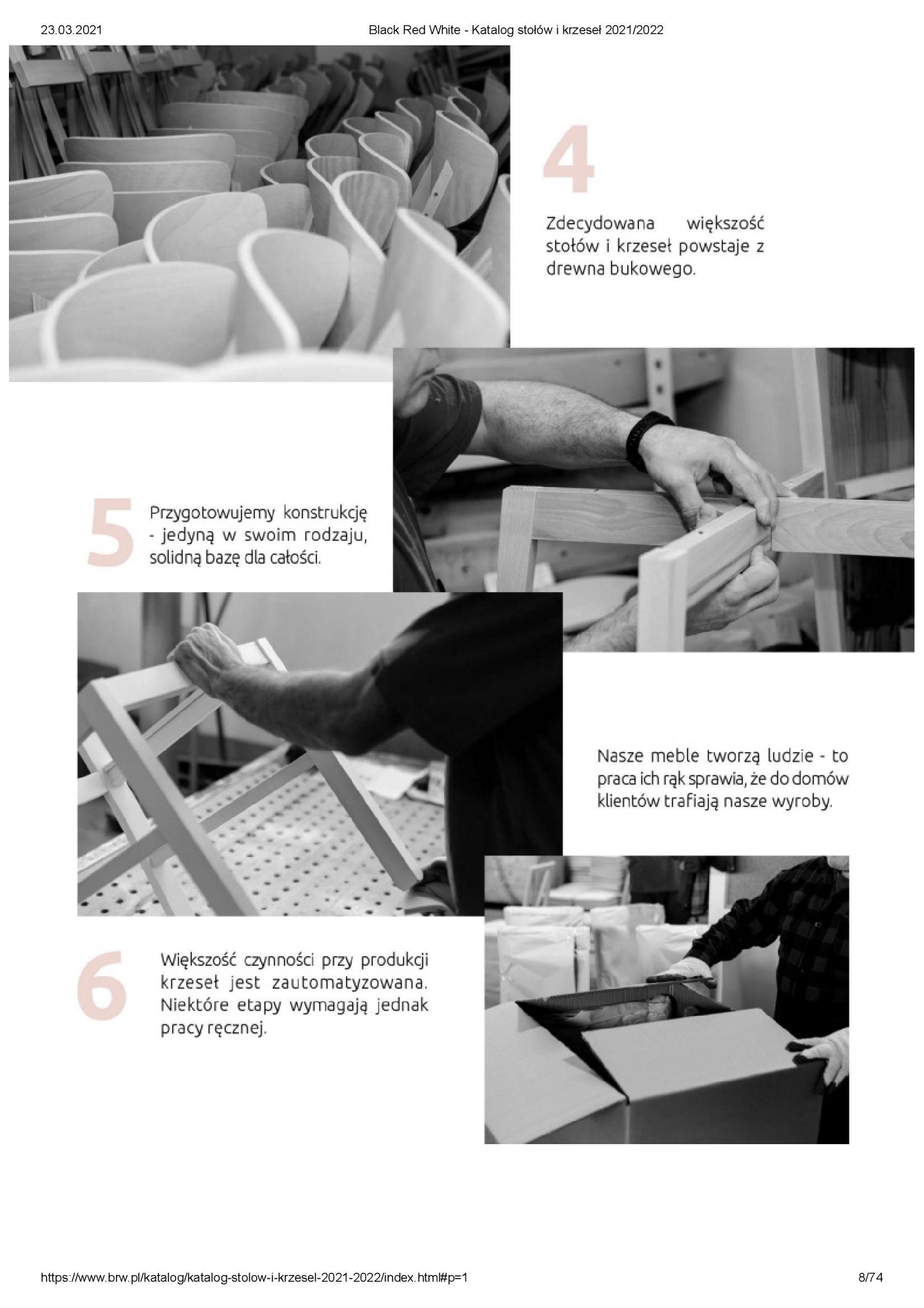 Gazetka Black Red White: Katalog stołów i krzeseł 2021-03-23 page-8