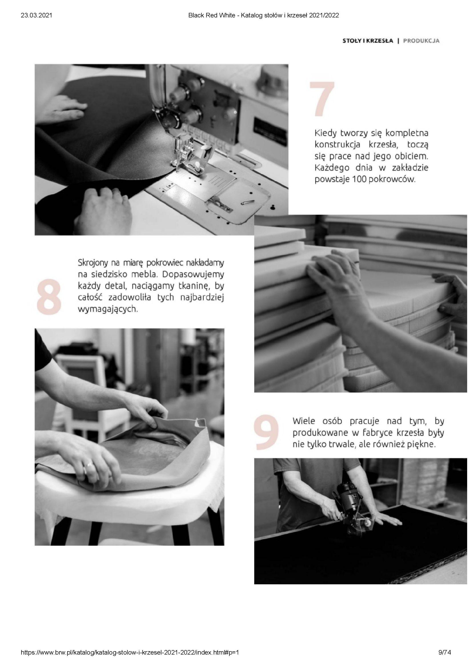 Gazetka Black Red White: Katalog stołów i krzeseł 2021-03-23 page-9
