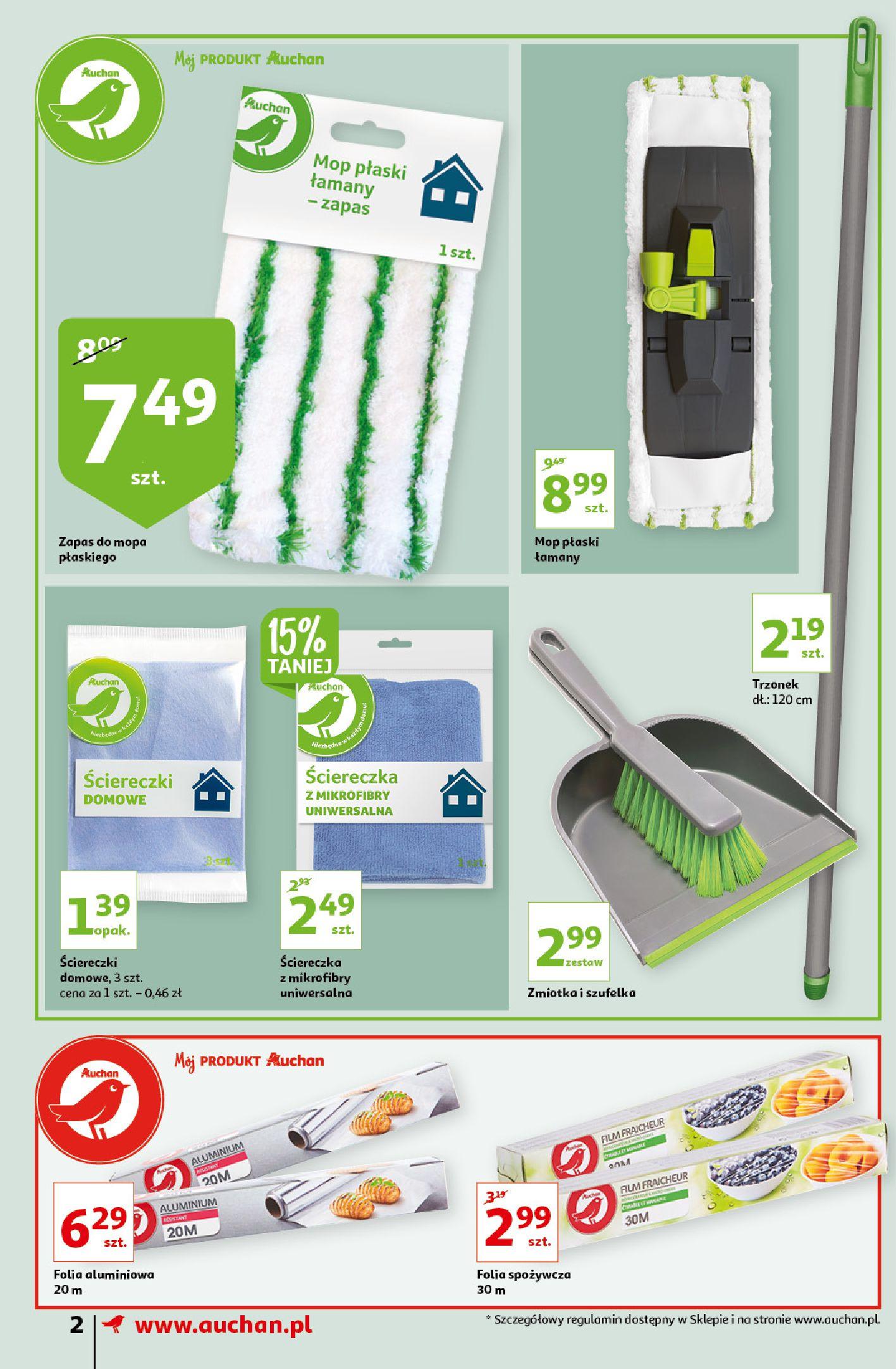 Gazetka Auchan: Gazetka Auchan - Porządki Supermarkety 2021-09-16 page-2