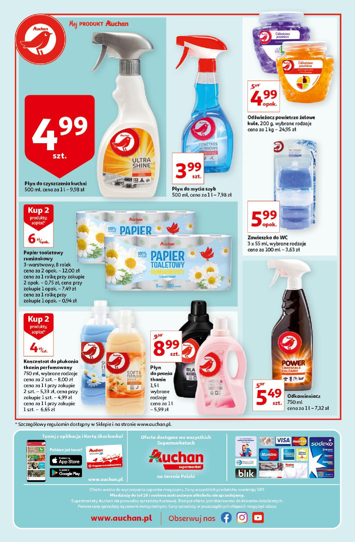Gazetka Auchan: Gazetka Auchan - Porządki Supermarkety 2021-09-16 page-4