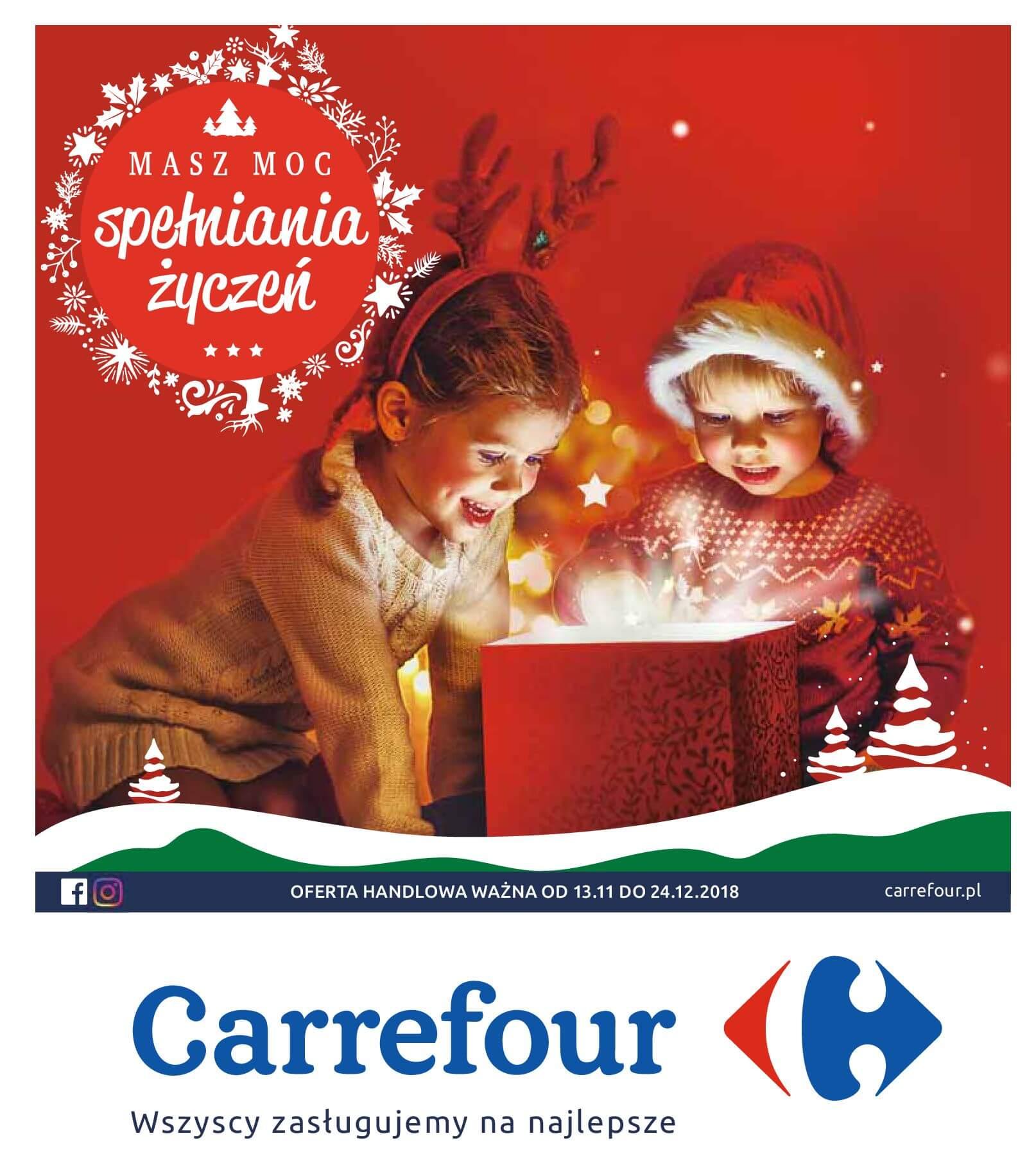 Gazetka Carrefour - Moc spełniania życzeń-11.11.2018-24.12.2018-page-