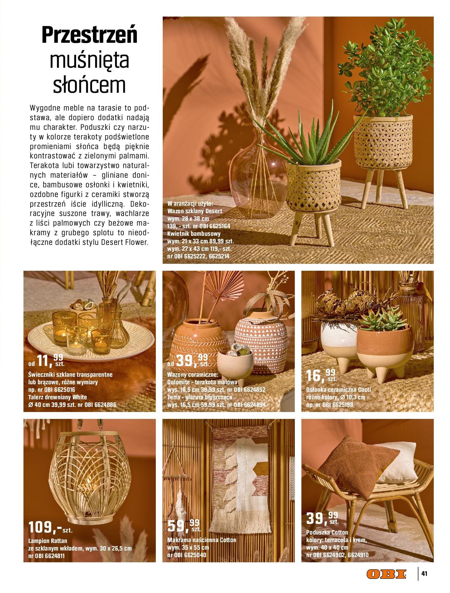 Gazetka OBI: Katalog OBI - Ogród, balkon, taras 2021-05-14 page-41