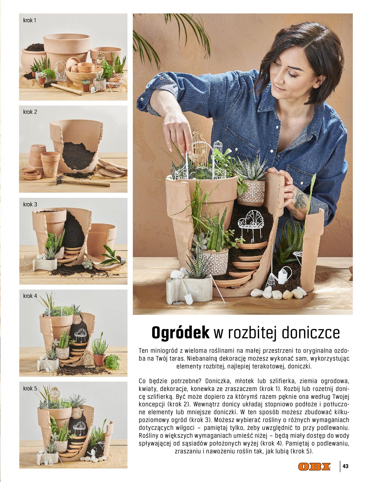 Gazetka OBI: Katalog OBI - Ogród, balkon, taras 2021-05-14 page-43