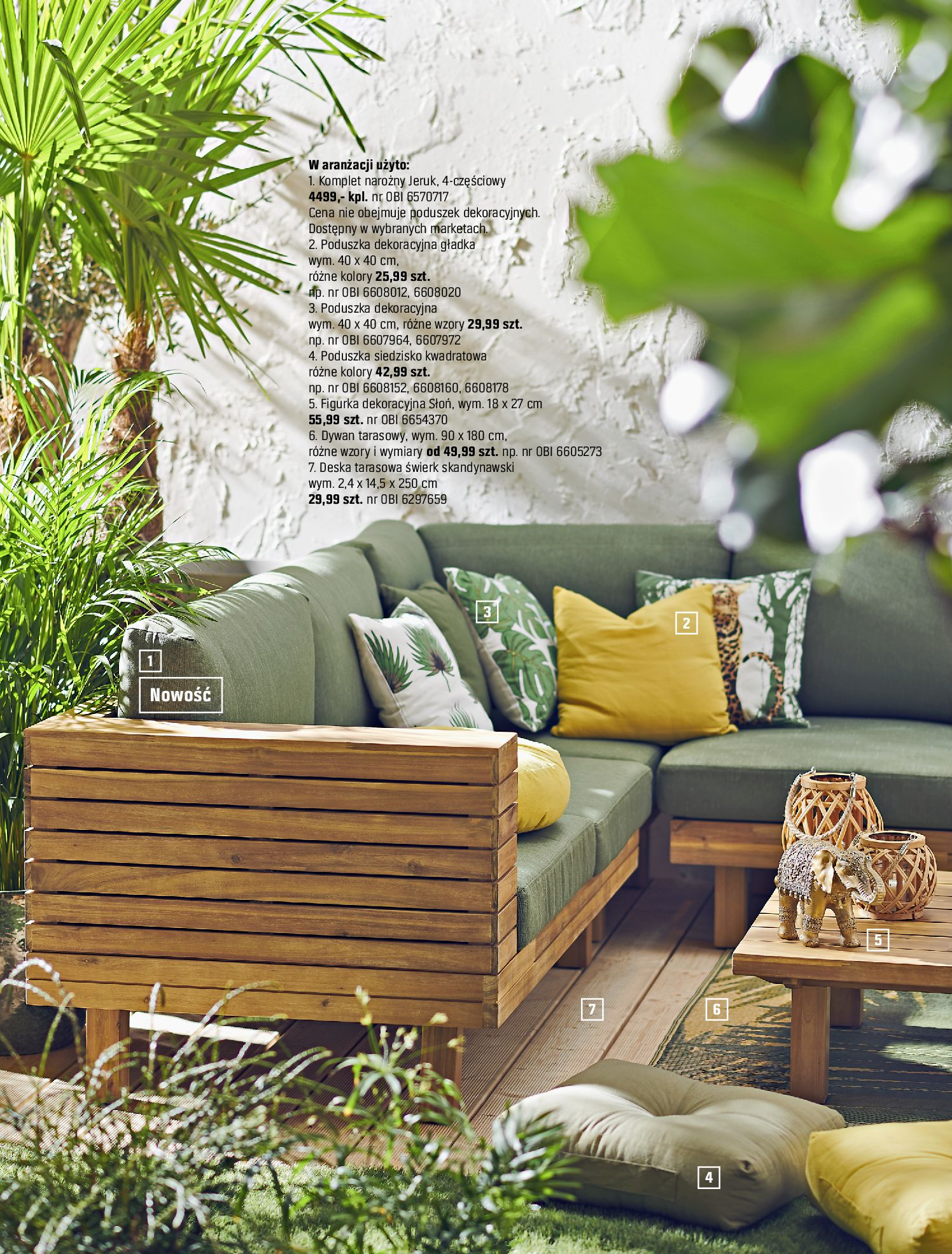 Gazetka OBI: Katalog OBI - Ogród, balkon, taras 2021-05-14 page-46