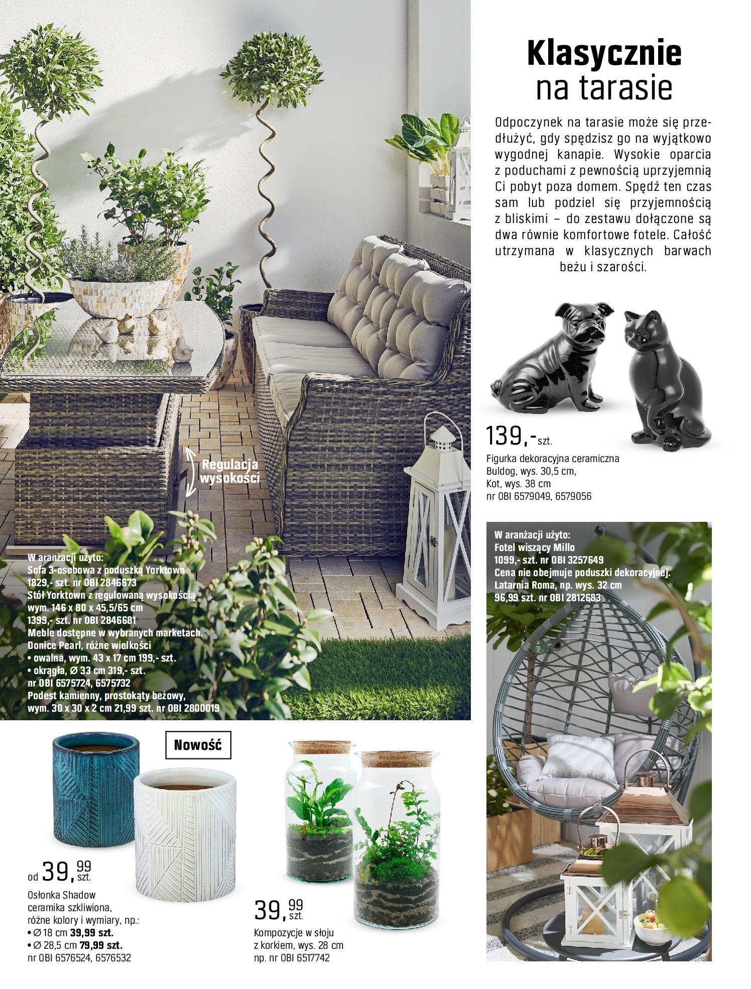Gazetka OBI: Katalog OBI - Ogród, balkon, taras 2021-05-14 page-56