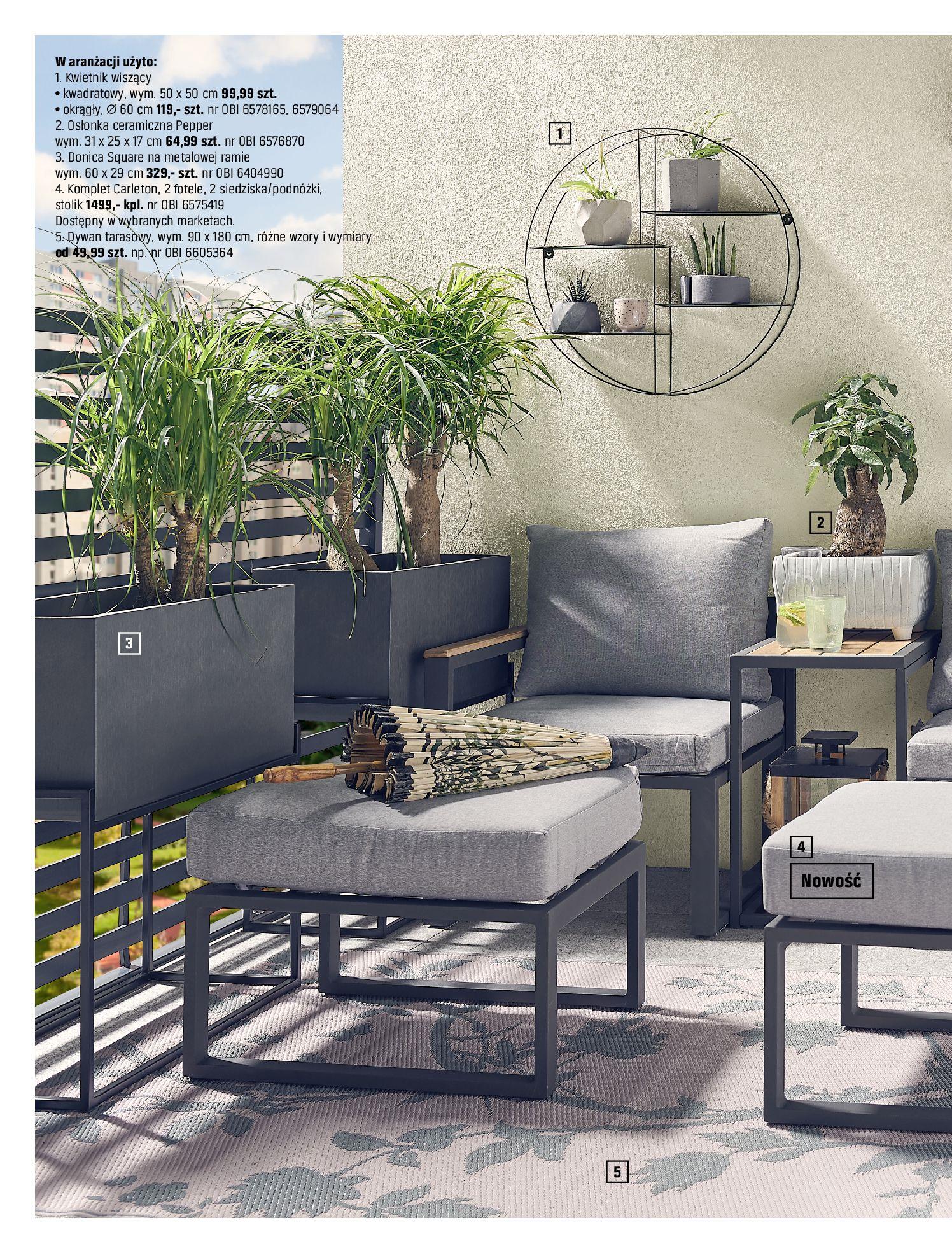 Gazetka OBI: Katalog OBI - Ogród, balkon, taras 2021-05-14 page-62