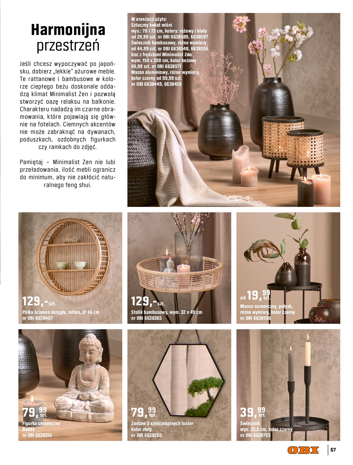 Gazetka OBI: Katalog OBI - Ogród, balkon, taras 2021-05-14 page-67