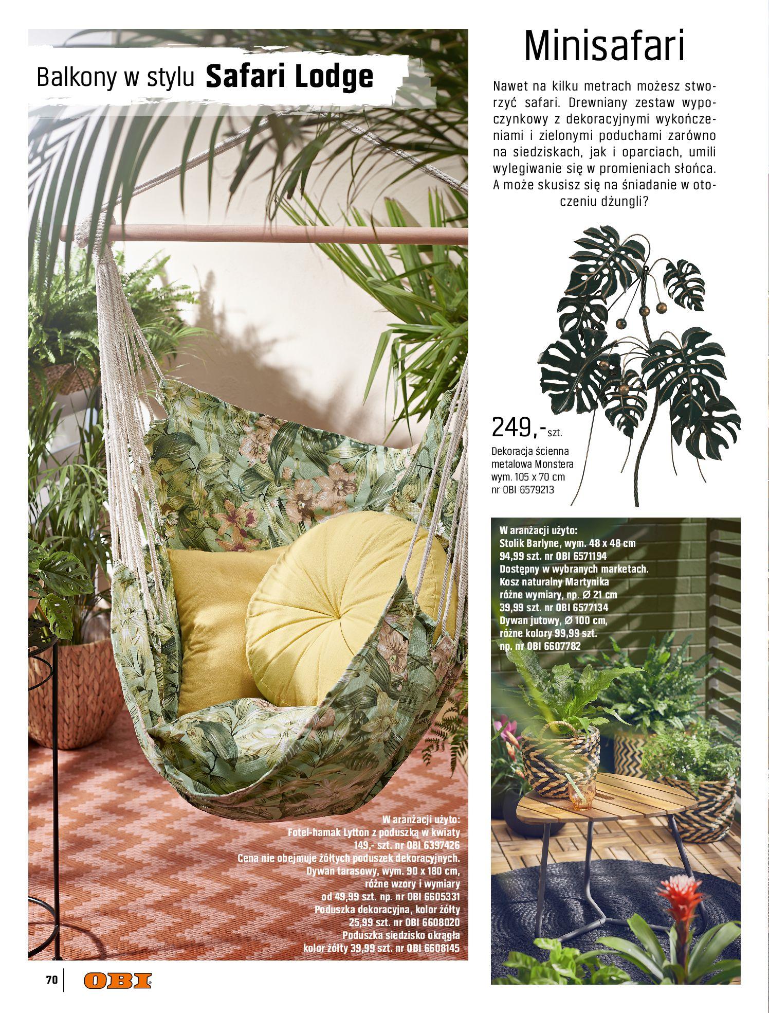 Gazetka OBI: Katalog OBI - Ogród, balkon, taras 2021-05-14 page-70