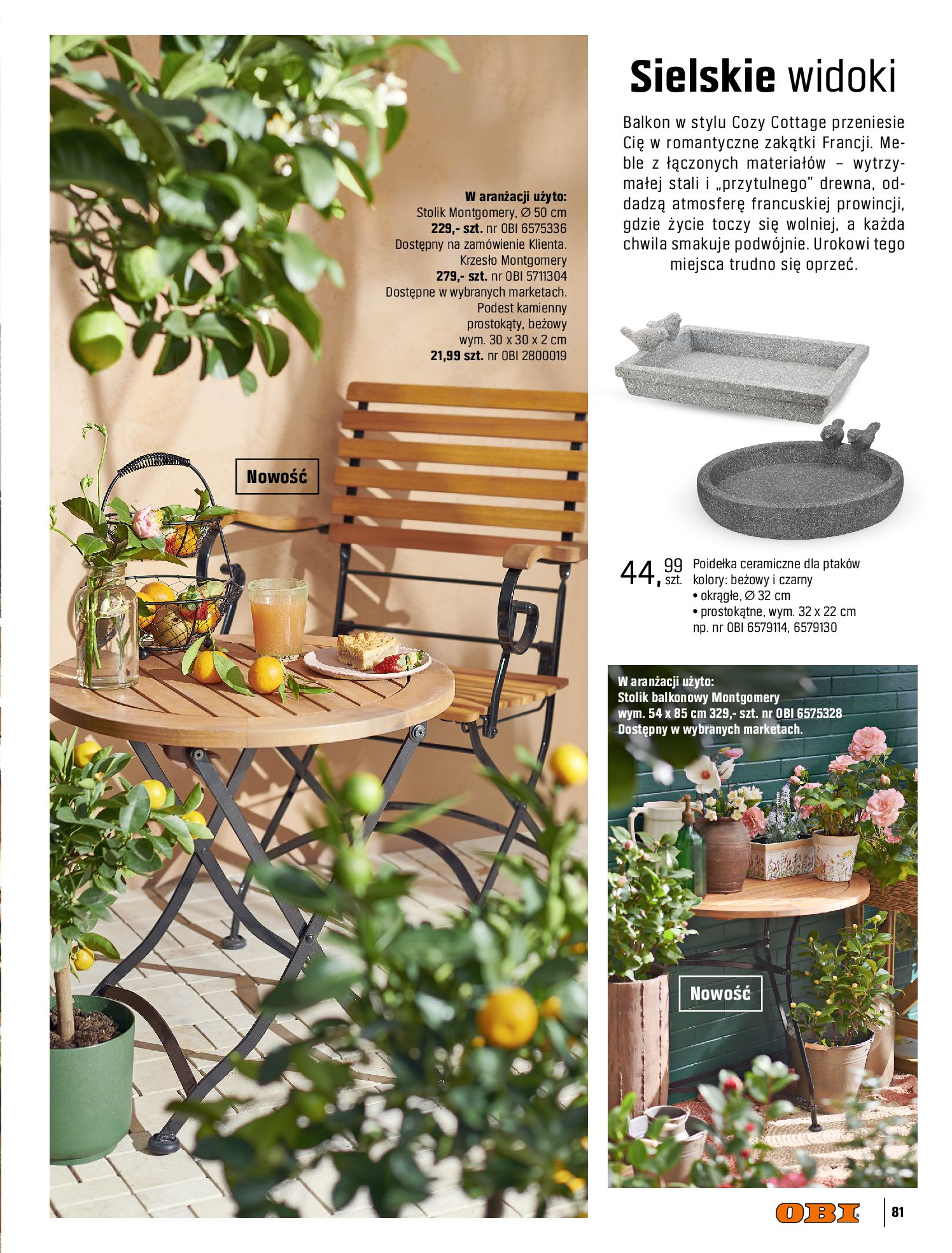 Gazetka OBI: Katalog OBI - Ogród, balkon, taras 2021-05-14 page-81