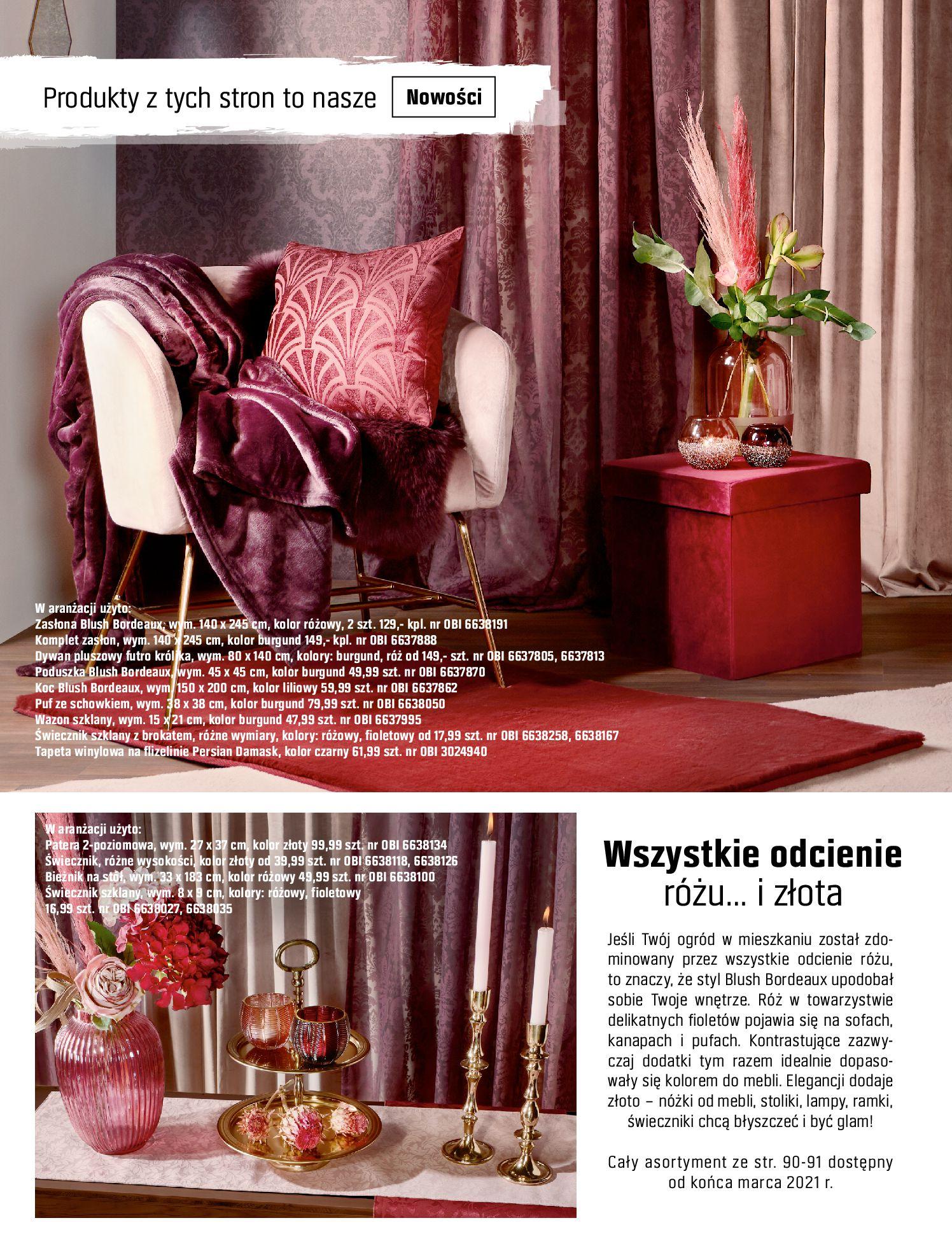 Gazetka OBI: Katalog OBI - Ogród, balkon, taras 2021-05-14 page-90