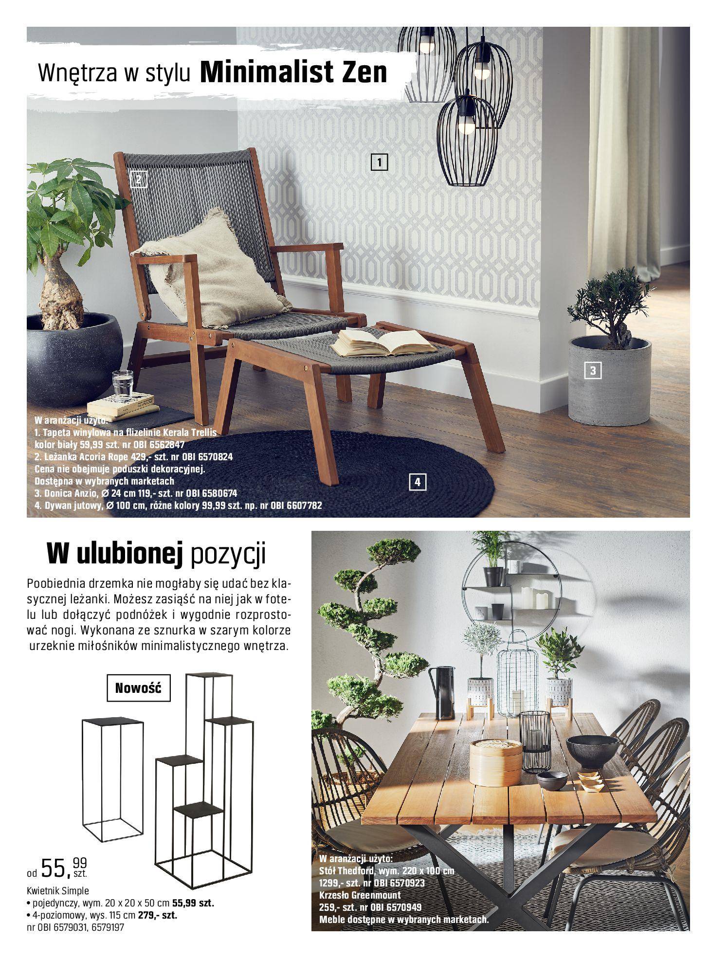 Gazetka OBI: Katalog OBI - Ogród, balkon, taras 2021-05-14 page-100
