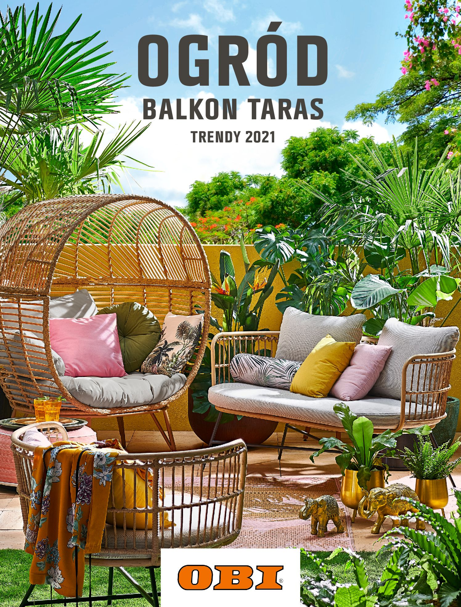 OBI:  Katalog OBI - Ogród, balkon, taras 13.05.2021