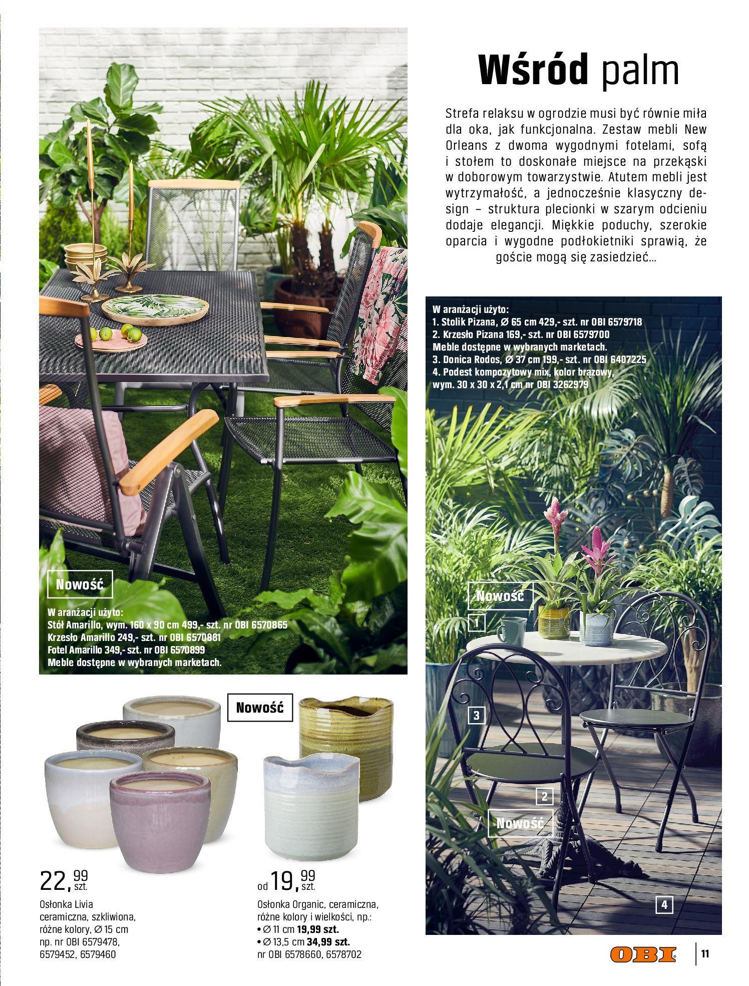 Gazetka OBI: Katalog OBI - Ogród, balkon, taras 2021-05-14 page-11