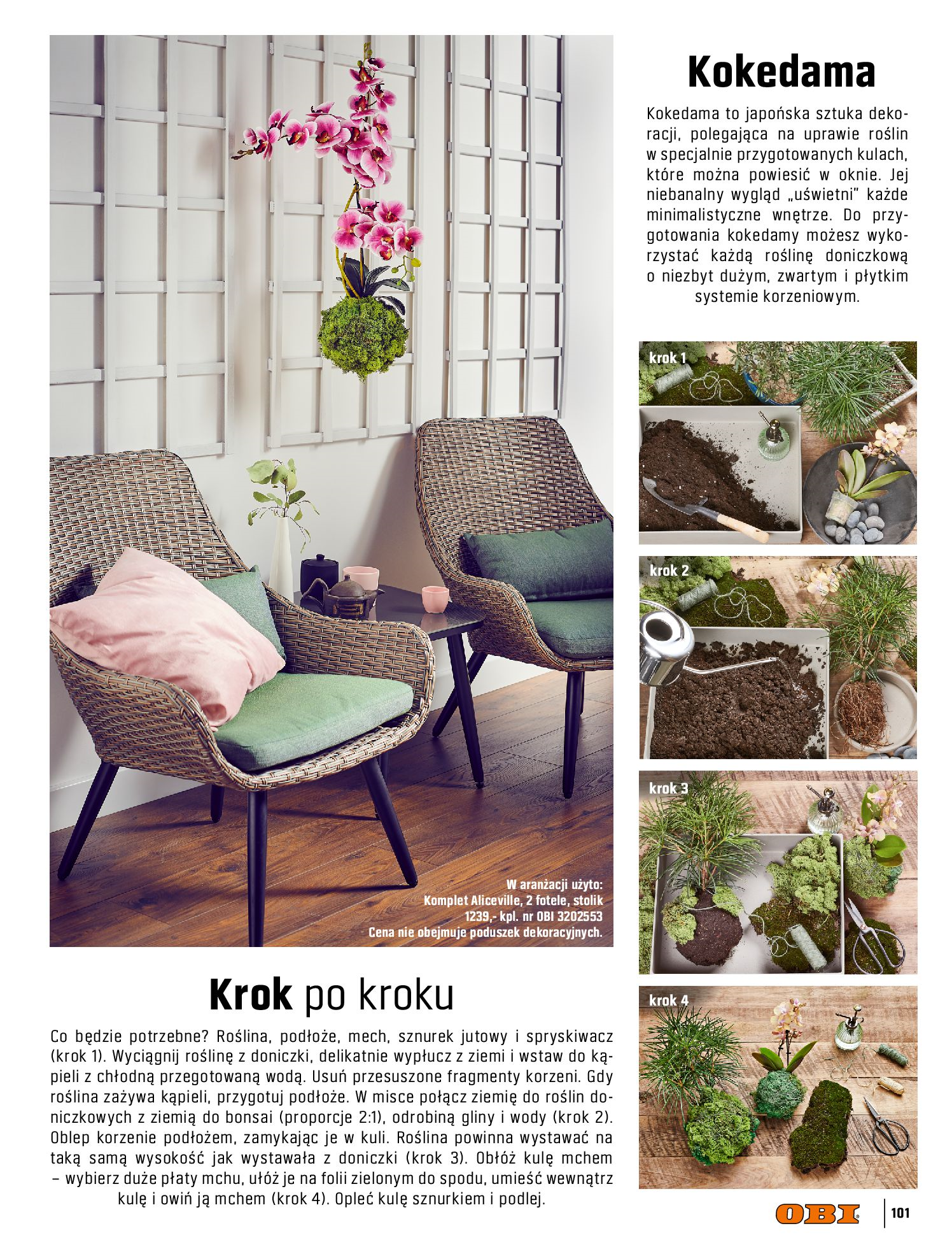 Gazetka OBI: Katalog OBI - Ogród, balkon, taras 2021-05-14 page-101